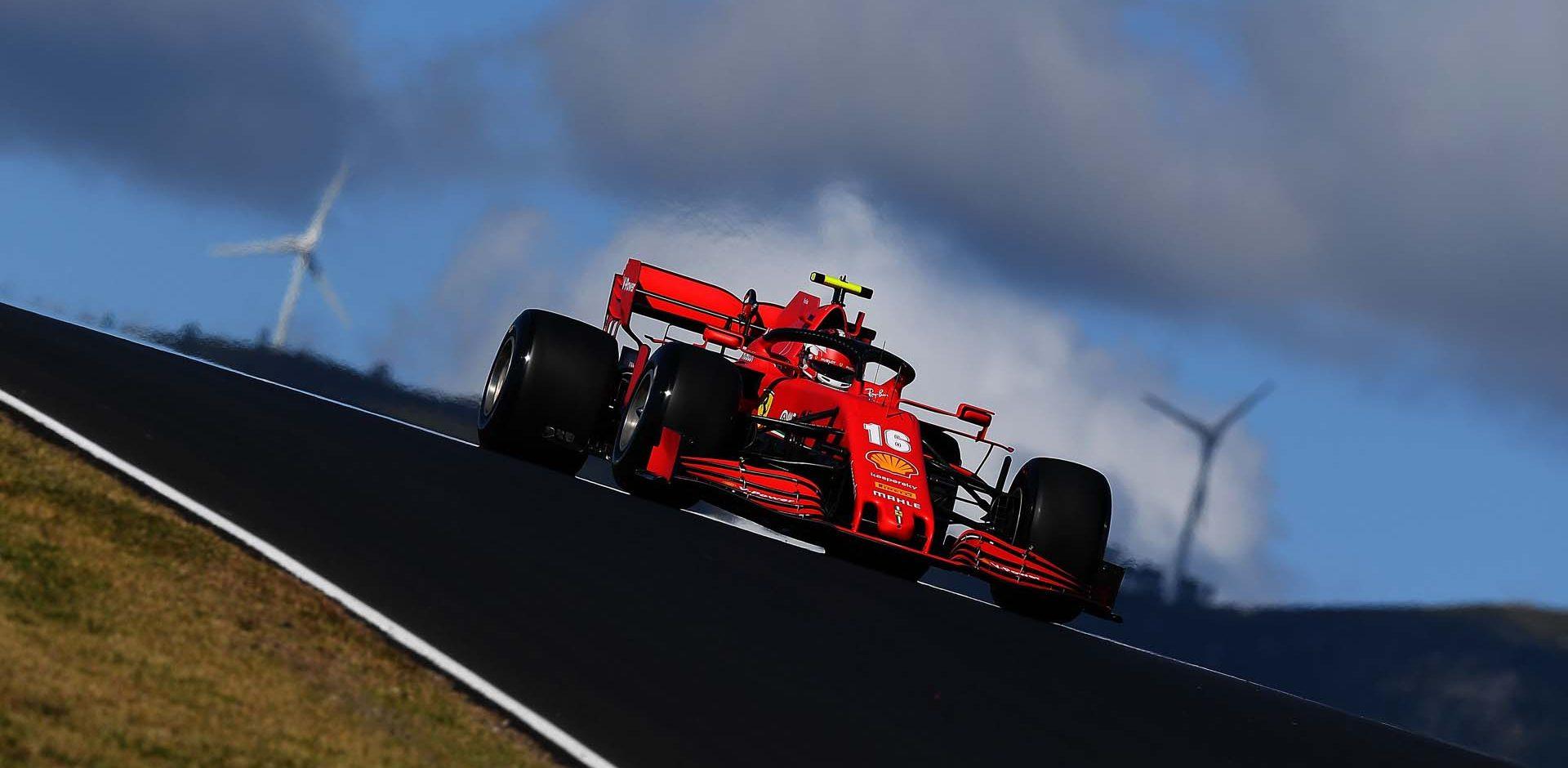 GP PORTOGALLO F1/2020 -  VENERDÌ 23/10/2020   Charles Leclerc credit: @Scuderia Ferrari Press Office