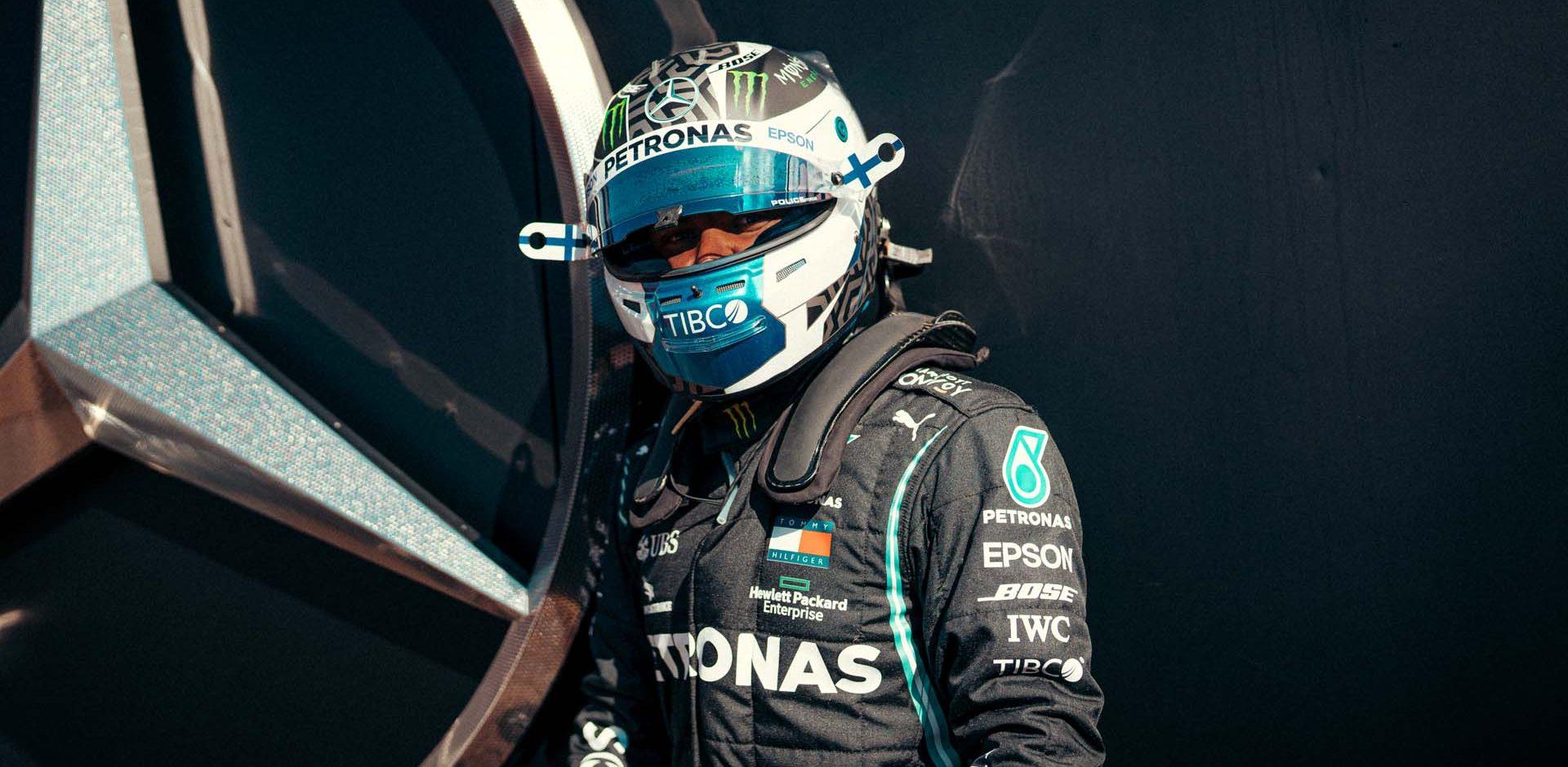 2020 Portuguese Grand Prix, Friday - Sebastian Kawka Valtteri Bottas Mercedes
