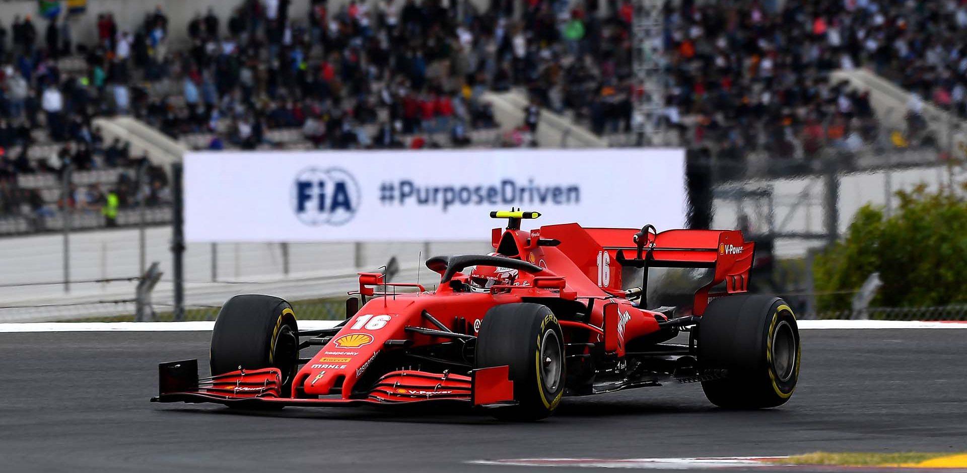 GP PORTOGALLO F1/2020 -  DOMENICA 25/10/2020 credit: @Scuderia Ferrari Press Office Charles Leclerc