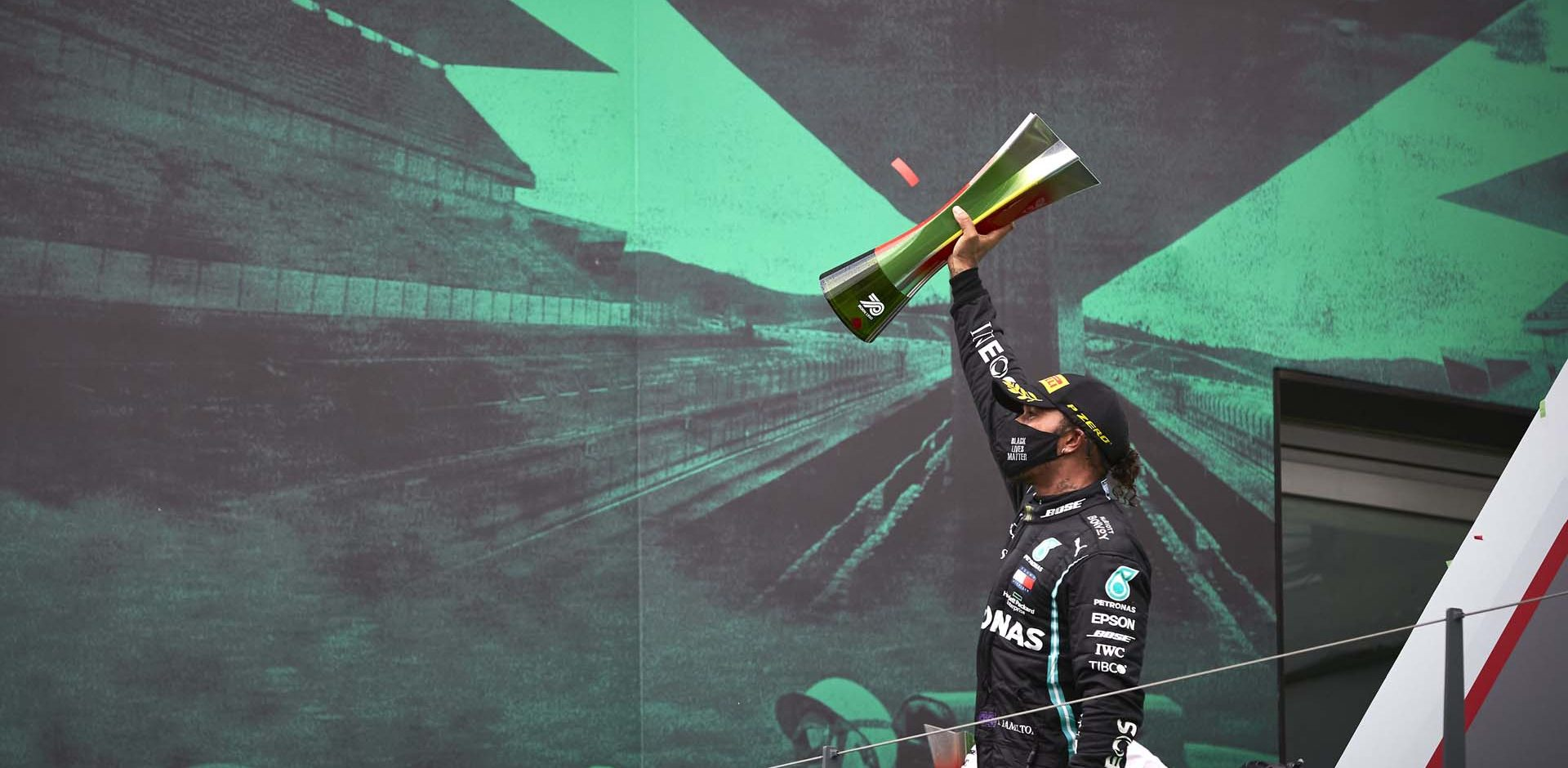 2020 Portuguese Grand Prix, Sunday - Steve Etherington Lewis Hamilton Mercedes