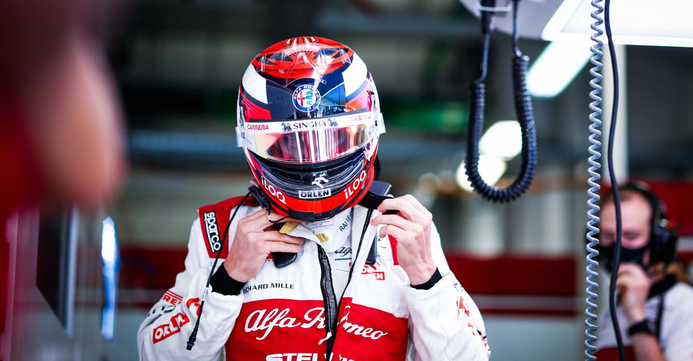 RAIKKONEN Kimi Räikkönen (fin), Alfa Romeo Racing ORLEN C39, portrait during the Formula 1 VTB Russian Grand Prix 2020, from September 25 to 27, 2020 on the Sochi Autodrom, in Sochi, Russia - Photo Antonin Vincent / DPPI