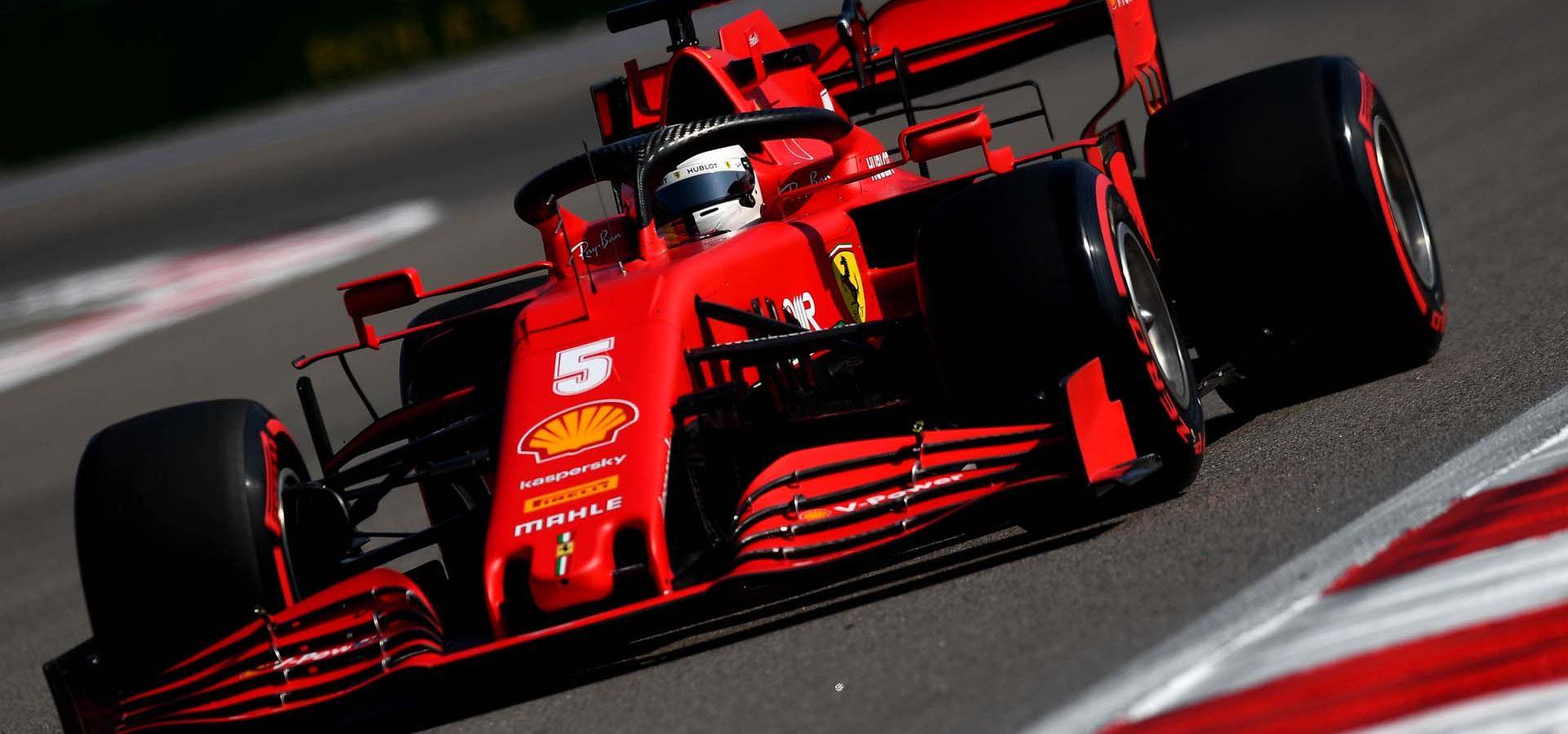 GP RUSSIA F1/2020 -  VENERDI 25/09/2020    credit: @Scuderia Ferrari Press Office Sebastian Vettel