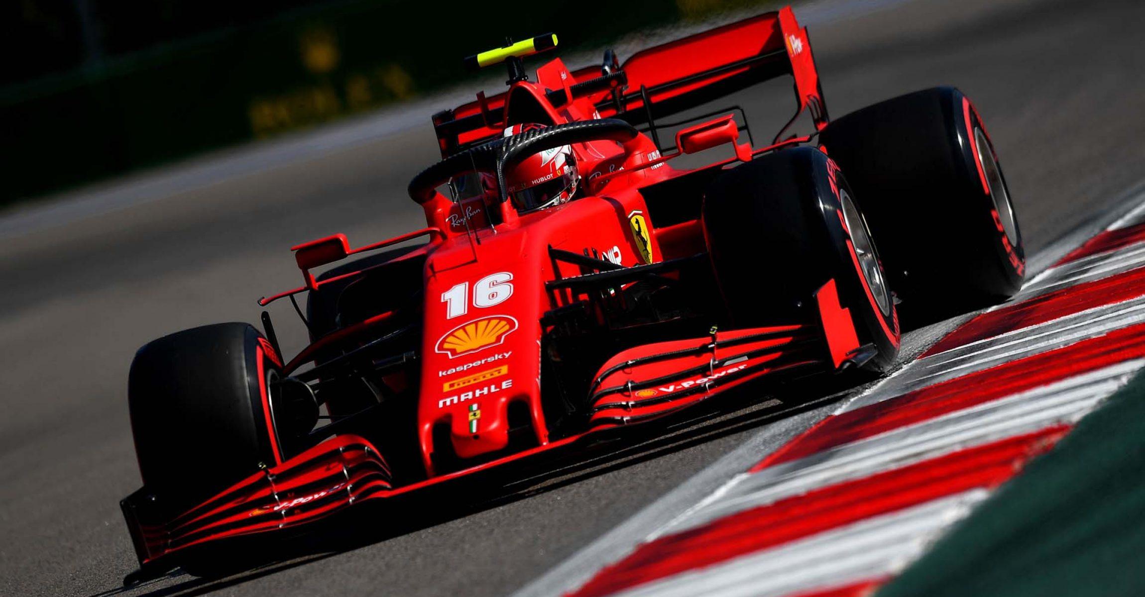 GP RUSSIA F1/2020 -  VENERDI 25/09/2020    credit: @Scuderia Ferrari Press Office Charles Leclerc Ferrari