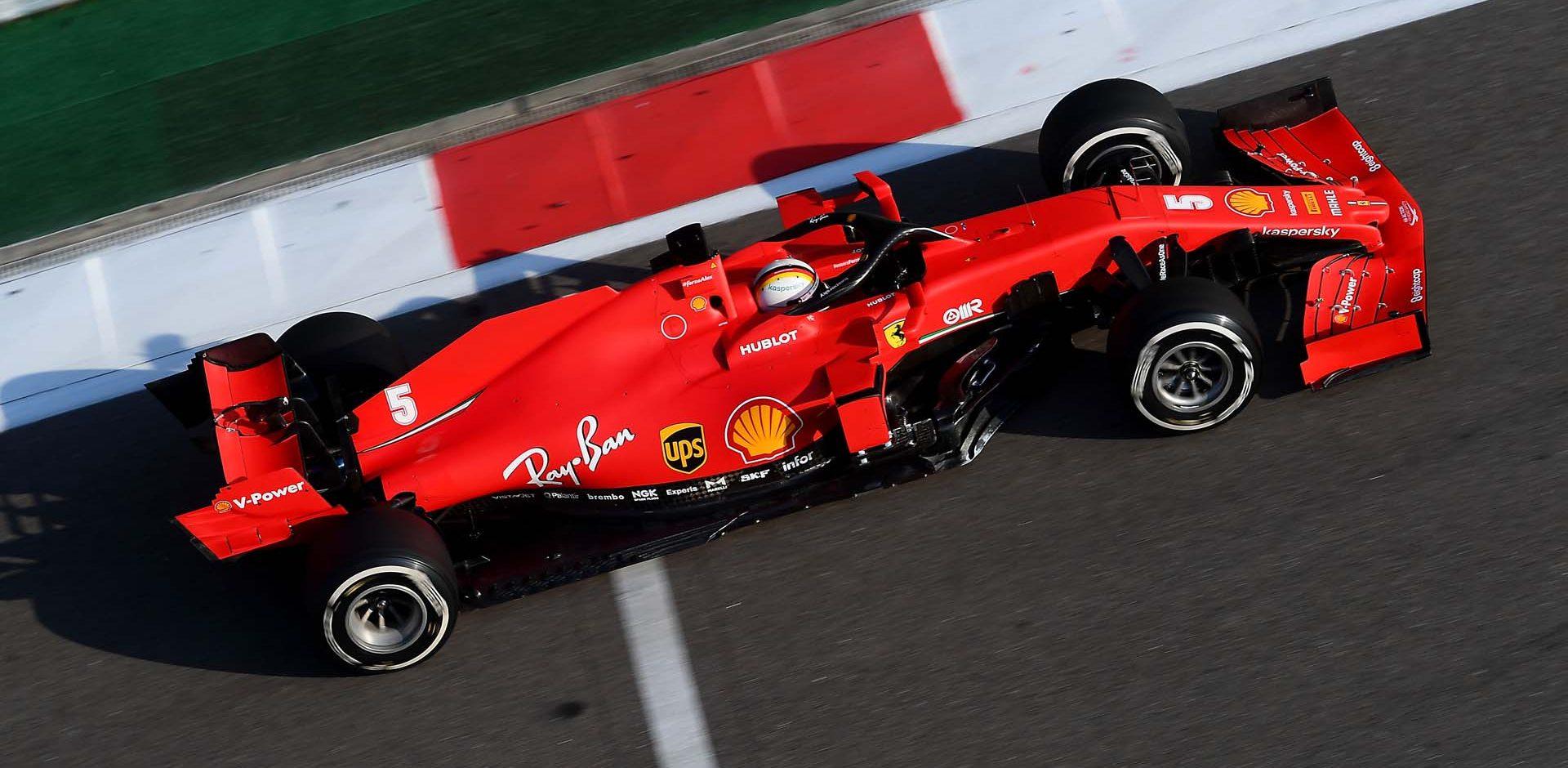 GP RUSSIA F1/2020 -  VENERDI 25/09/2020    credit: @Scuderia Ferrari Press Office Sebastian Vettel Ferrari