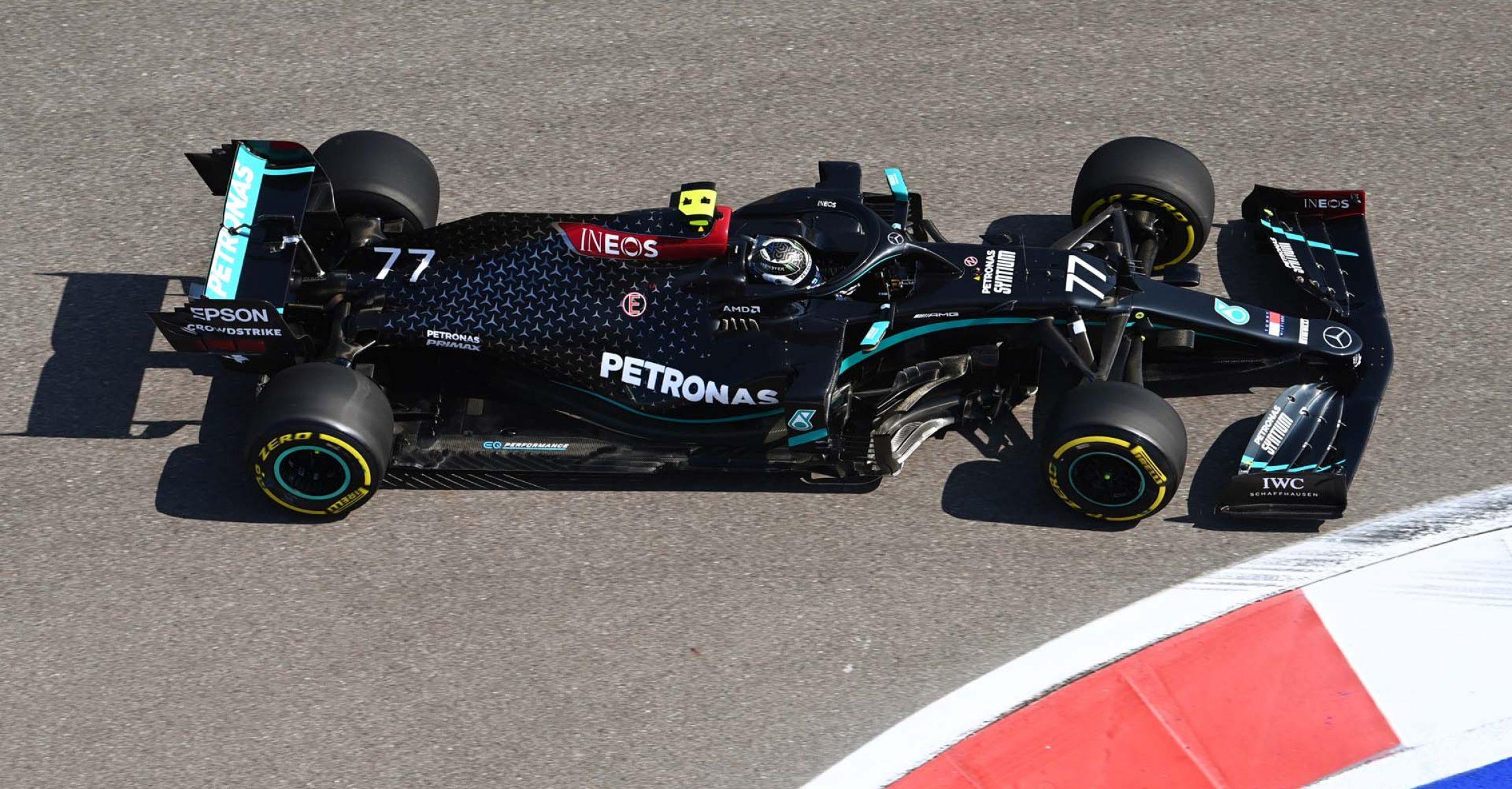 2020 Russian Grand Prix, Friday - LAT Images Valtteri Bottas Mercedes