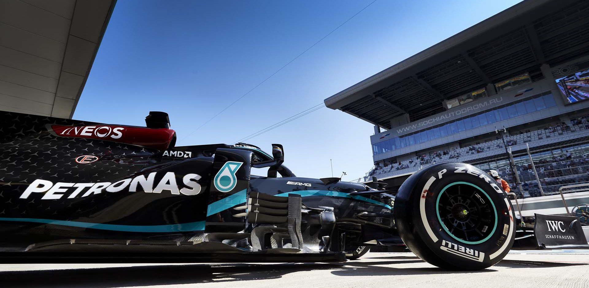 2020 Russian Grand Prix, Friday - Steve Etherington Lewis Hamilton Mercedes