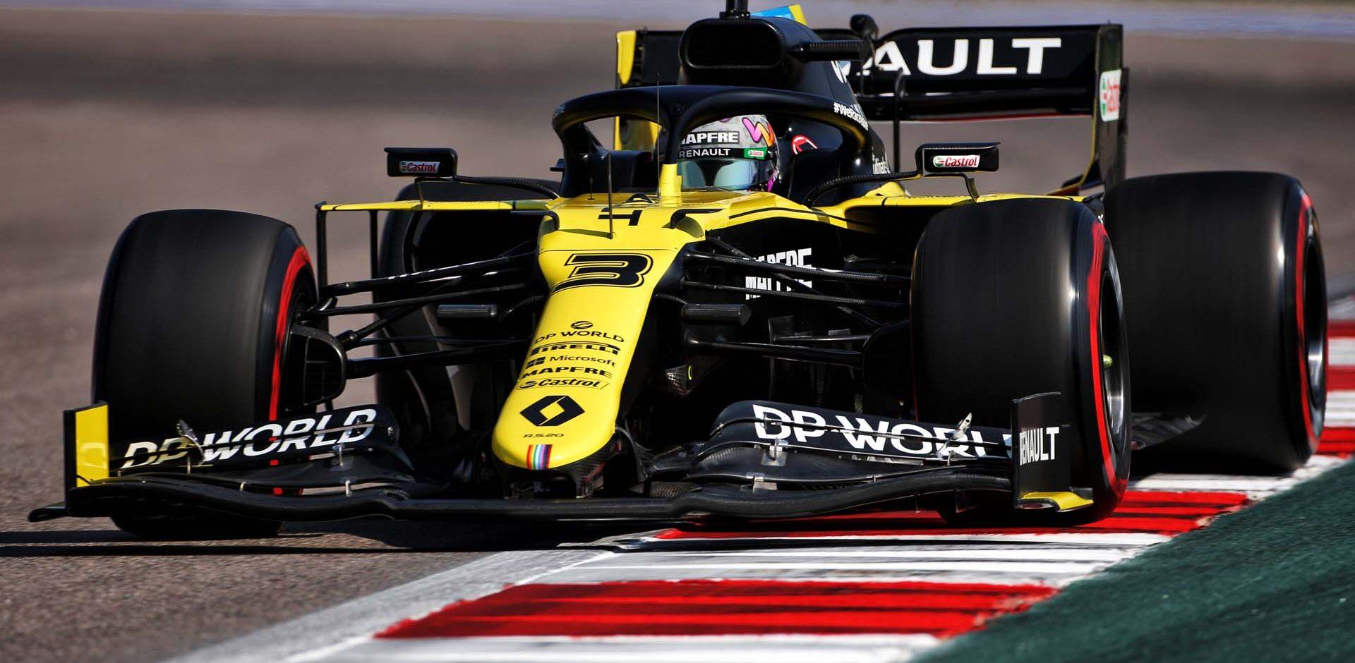 Daniel Ricciardo (AUS) Renault F1 Team RS20. Russian Grand Prix, Friday 25th September 2020. Sochi Autodrom, Sochi, Russia.