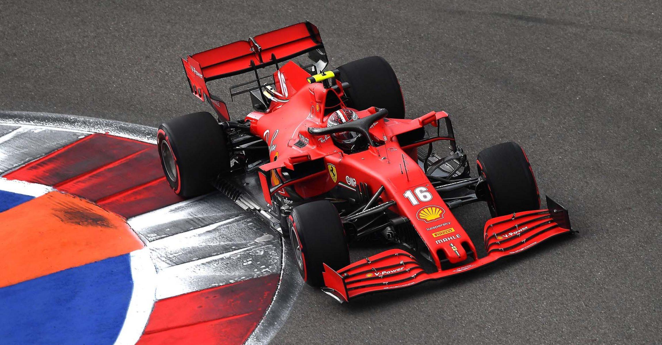 GP RUSSIA F1/2020 -  SABATO 26/09/2020      credit: @Scuderia Ferrari Press Office Charles Leclerc