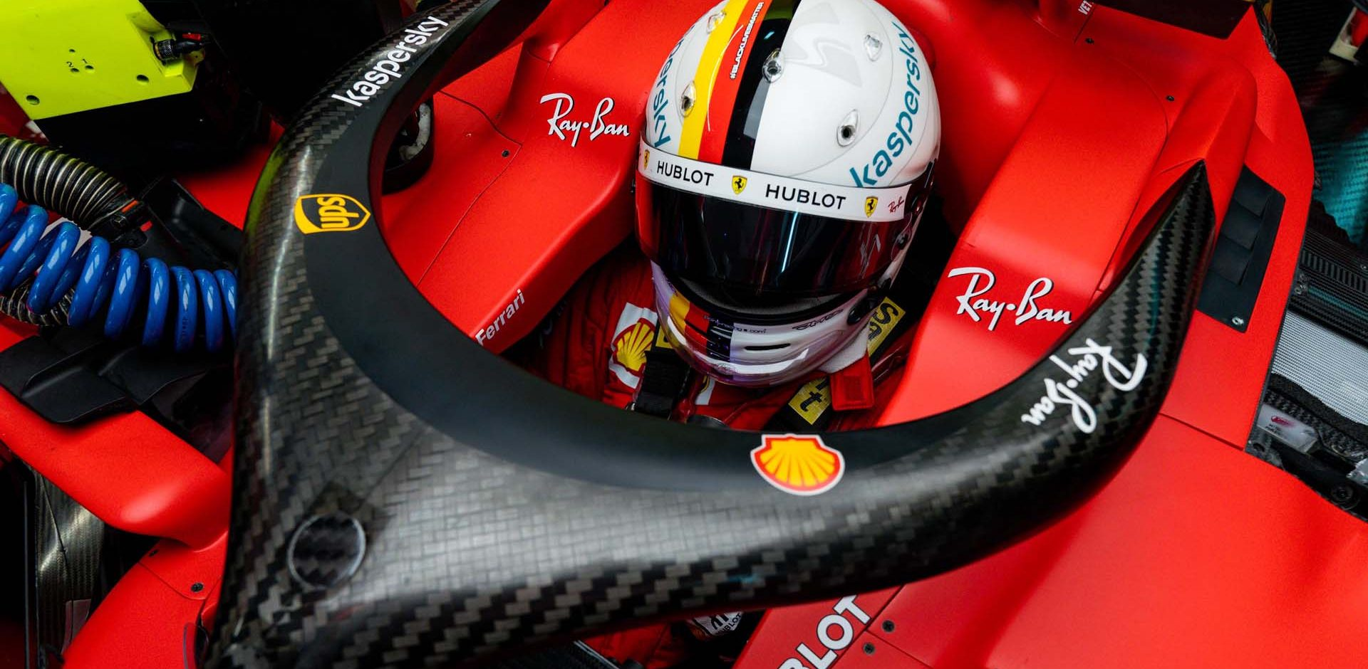 GP RUSSIA F1/2020 -  SABATO 26/09/2020      credit: @Scuderia Ferrari Press Office Sebastian Vettel Ferrari
