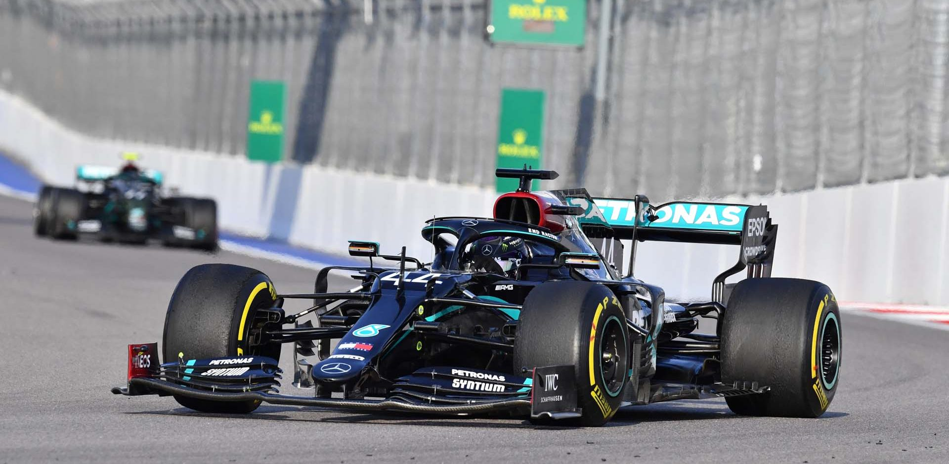 2020 Russian Grand Prix, Saturday - Wolfgang Wilhelm Lewis Hamilton Mercedes