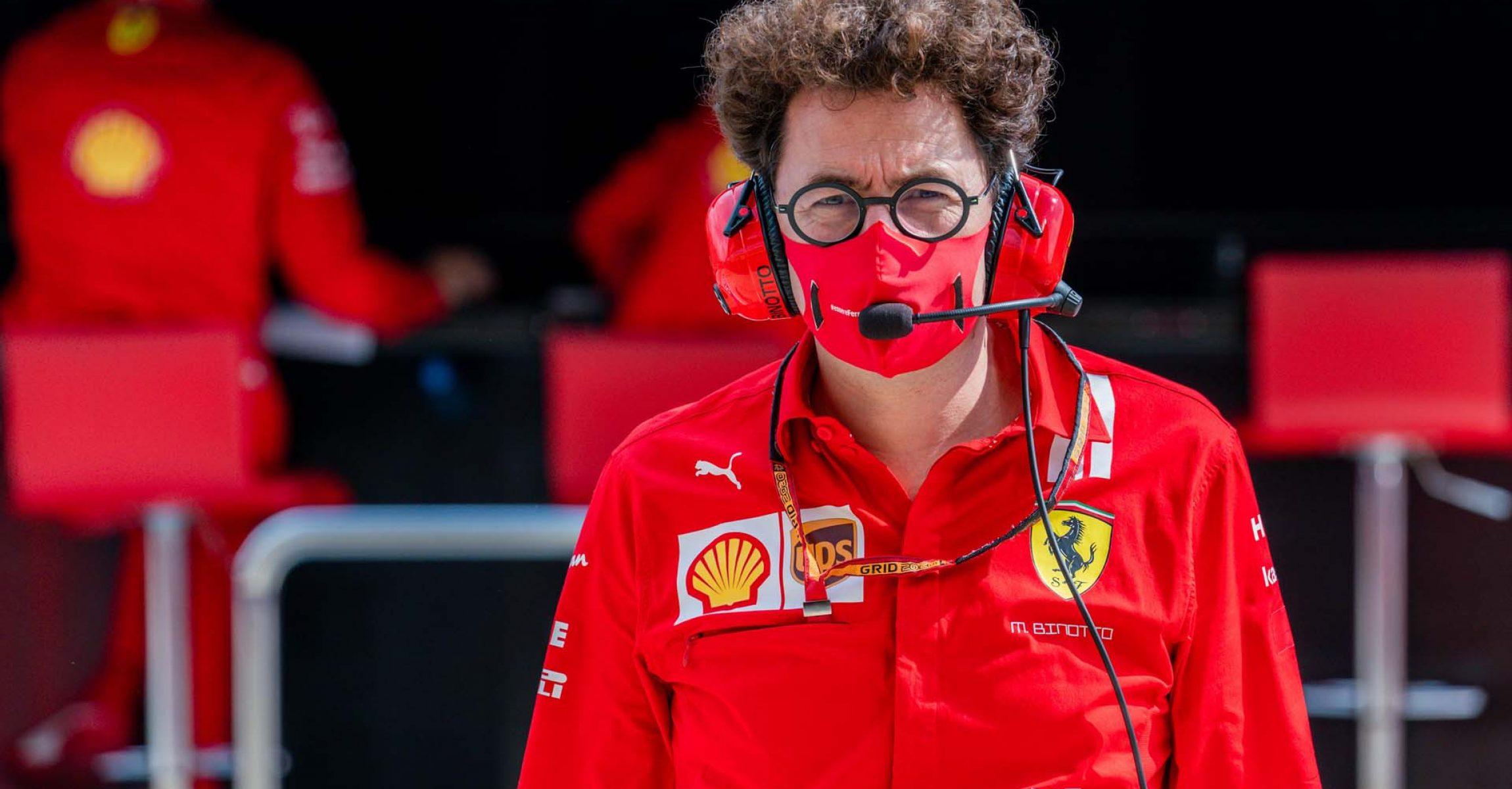 GP RUSSIA F1/2020 -  SABATO 26/09/2020      credit: @Scuderia Ferrari Press Office Mattia Binotto