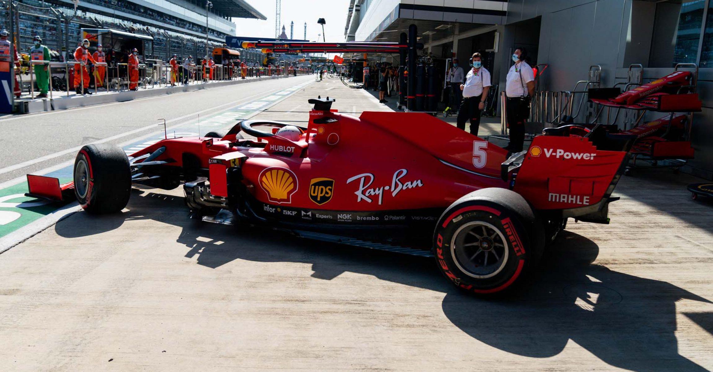 GP RUSSIA F1/2020 -  DOMENICA 27/09/2020   credit: @Scuderia Ferrari Press Office Sebastian Vettel