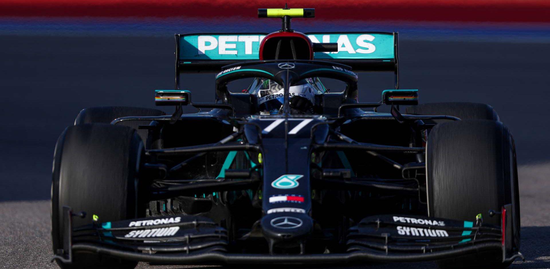 2020 Russian Grand Prix, Sunday - LAT Images Valtteri Bottas Mercedes