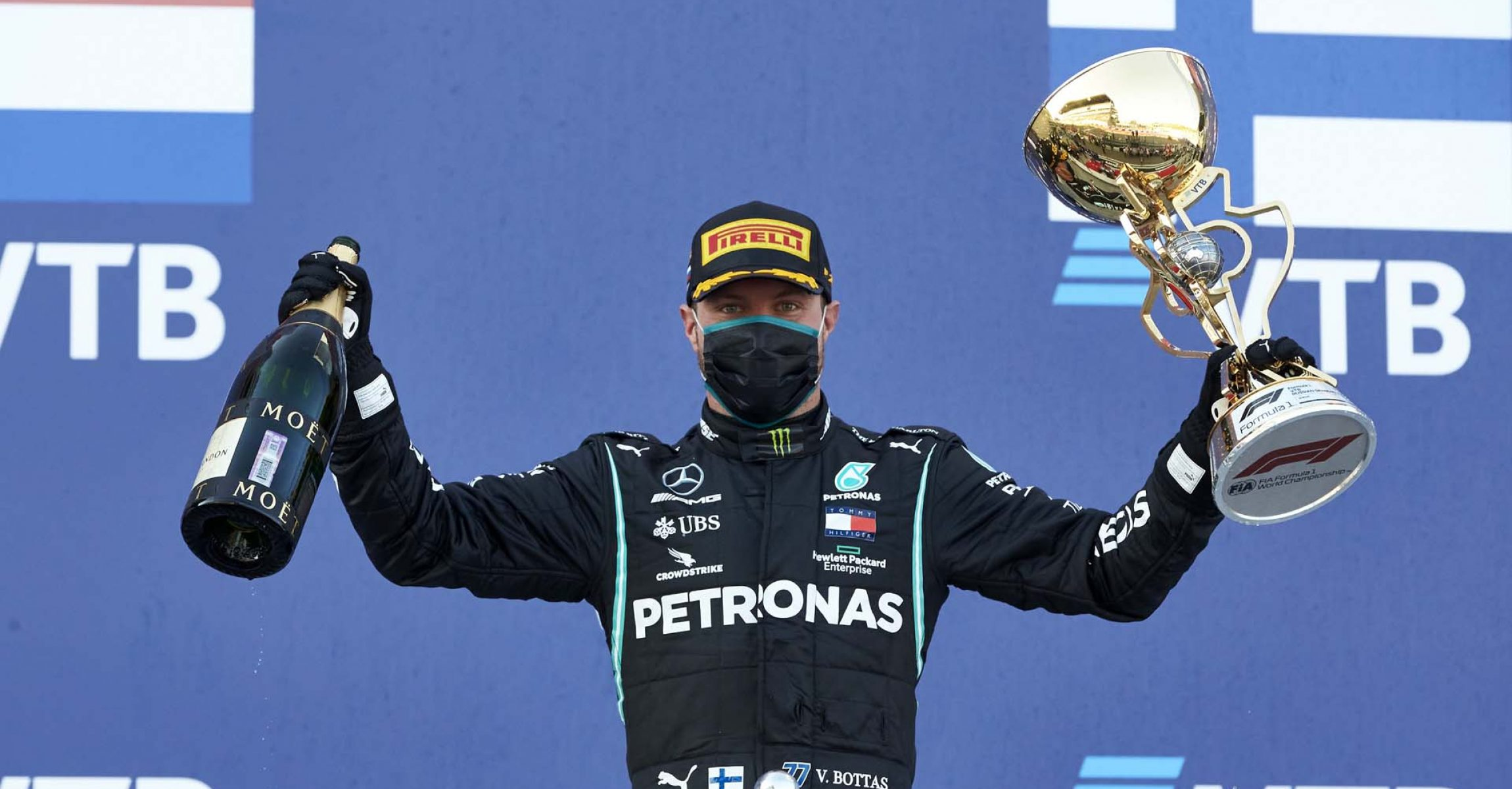 2020 Russian Grand Prix, Sunday - Steve Etherington Valtteri Bottas Mercedes