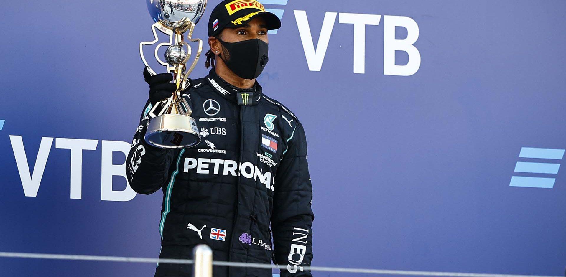 2020 Russian Grand Prix, Sunday - LAT Images Lewis Hamilton Mercedes