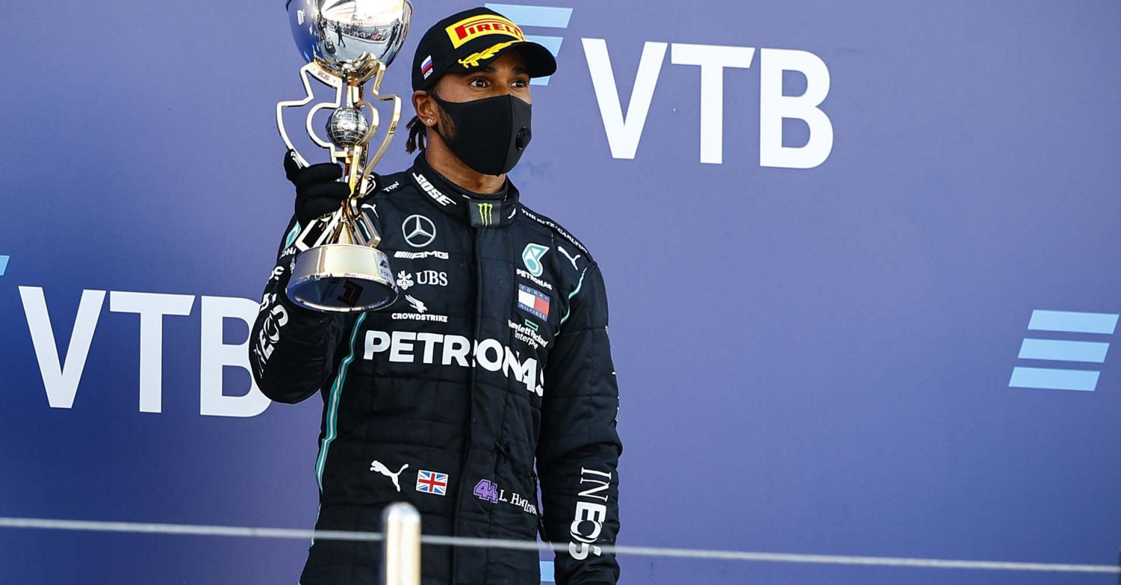 2020 Russian Grand Prix, Sunday - LAT Images Lewis Hamilton Mercedes