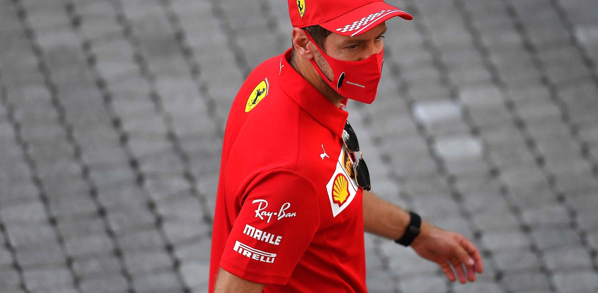 GP RUSSIA F1/2020 -  GIOVEDÌ 24/09/2020       credit: @Scuderia Ferrari Press Office Sebastian Vettel