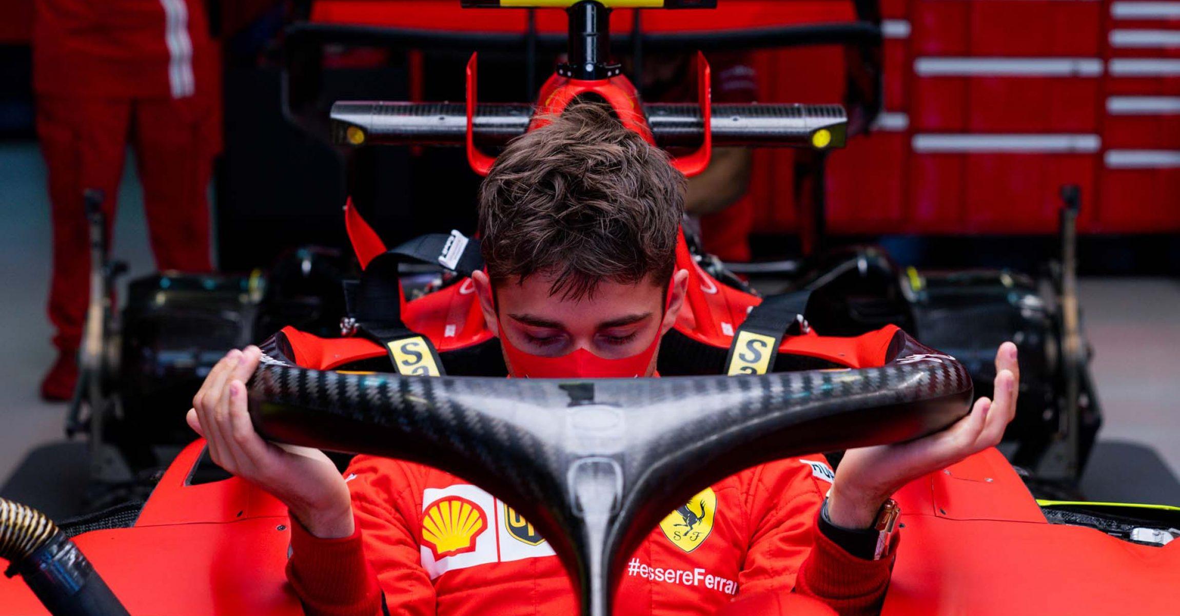 GP RUSSIA F1/2020 -  GIOVEDÌ 24/09/2020       credit: @Scuderia Ferrari Press Office Charles Leclerc
