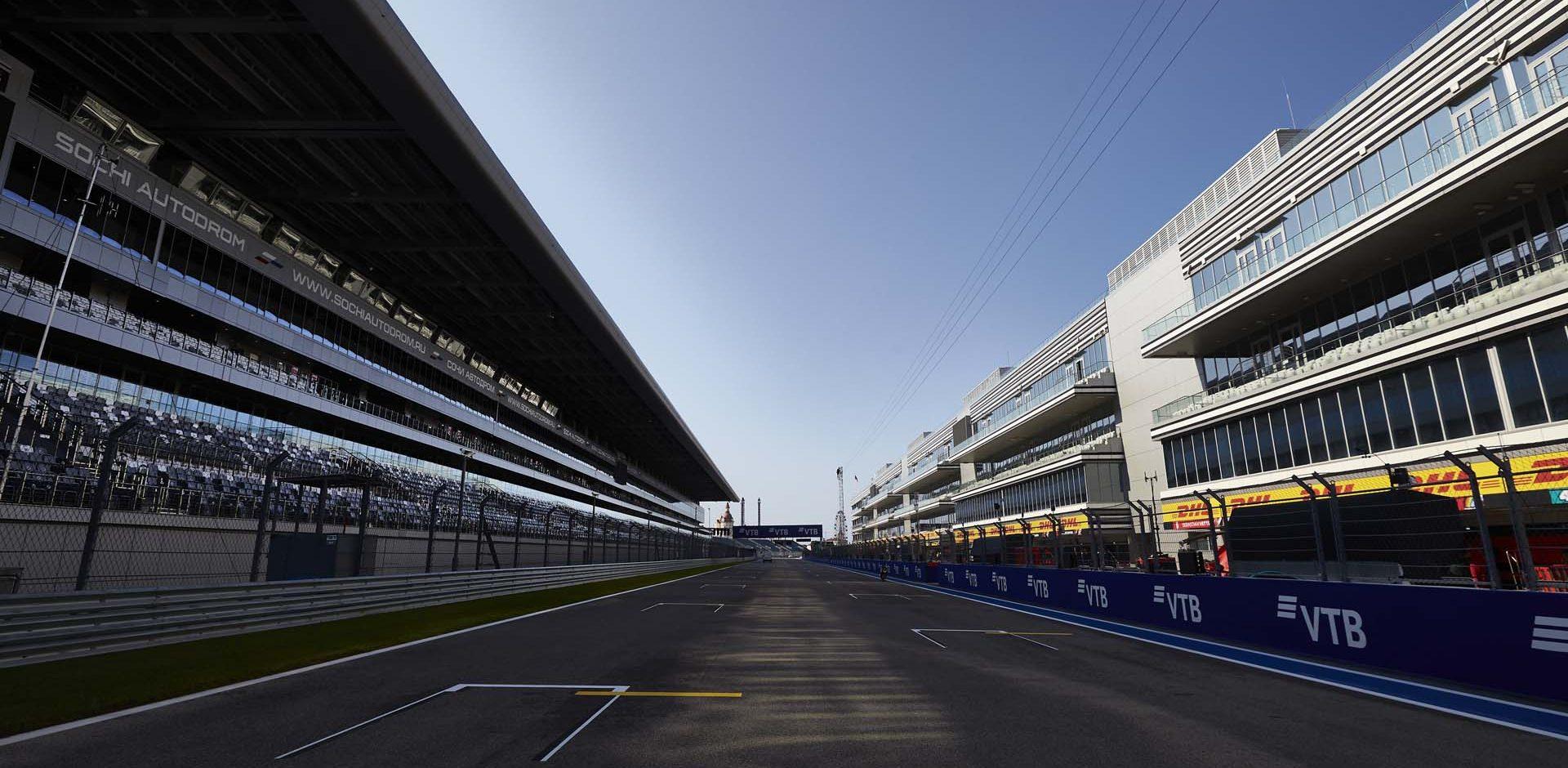 2020 Russian Grand Prix, Thursday - Steve Etherington Sochi track