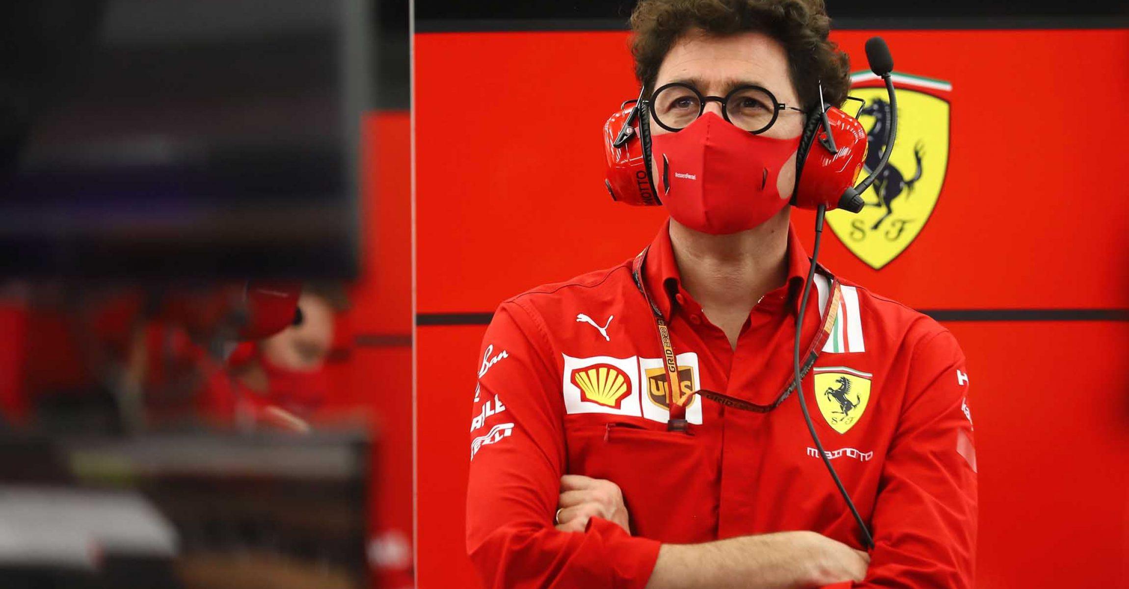 GP SAKHIR  F1/2020 - VENERDÌ 04/12/2020      credit: @Scuderia Ferrari Press Office Mattia Binotto