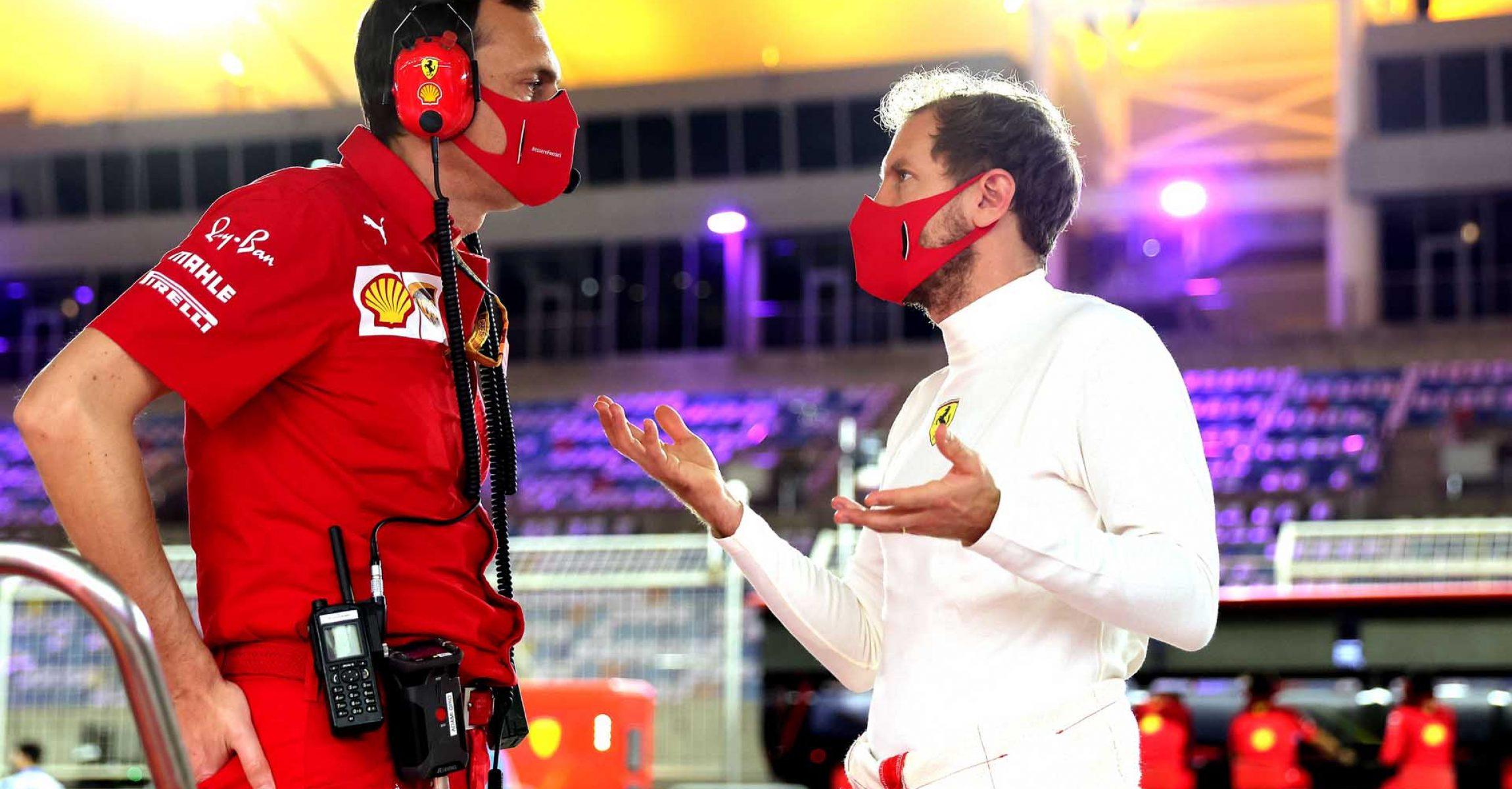 GP SAKHIR  F1/2020 - VENERDÌ 04/12/2020      credit: @Scuderia Ferrari Press Office Sebastian Vettel