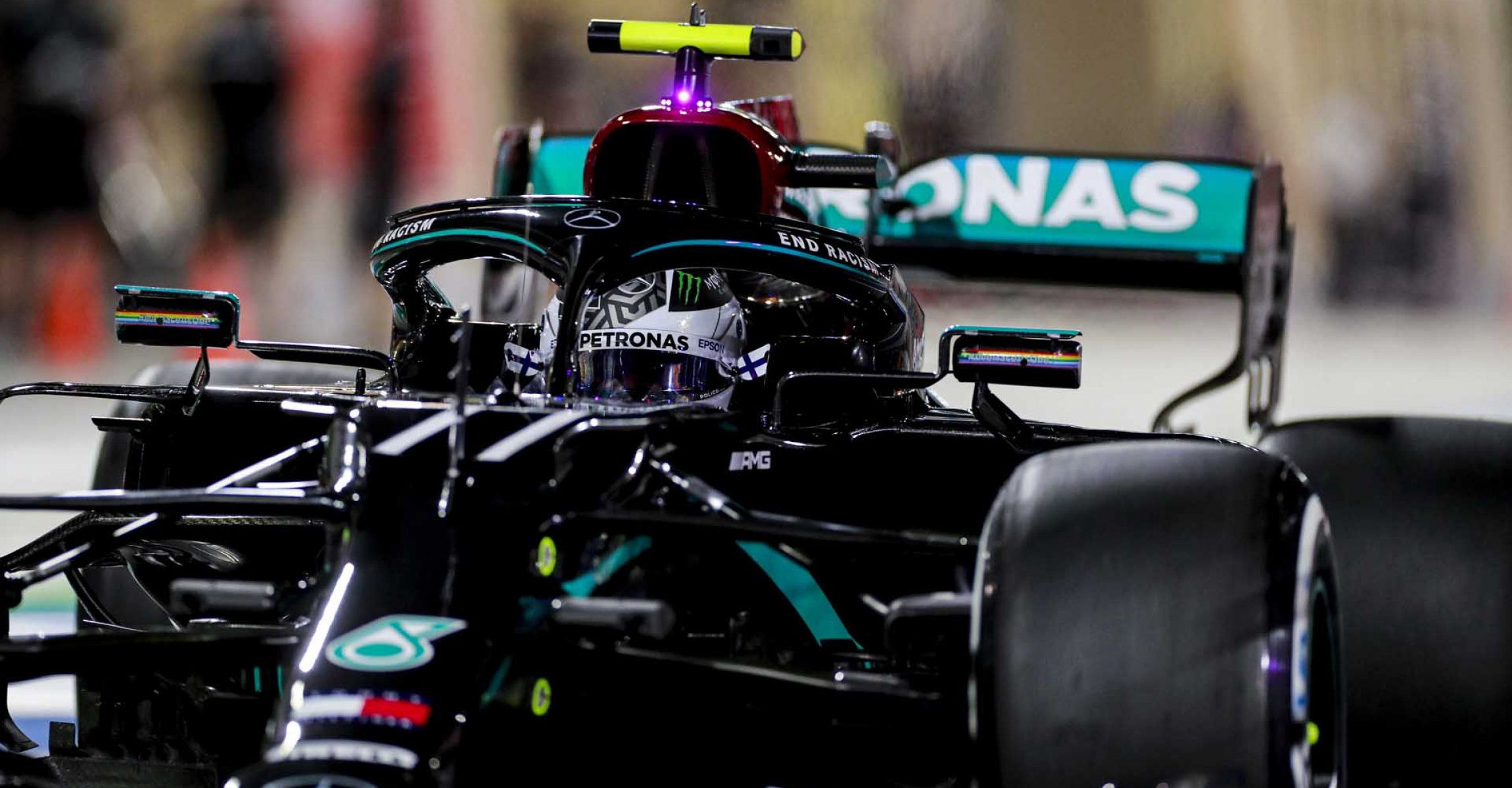 2020 Sakhir Grand Prix, Friday – LAT Images Valtteri Bottas Mercedes