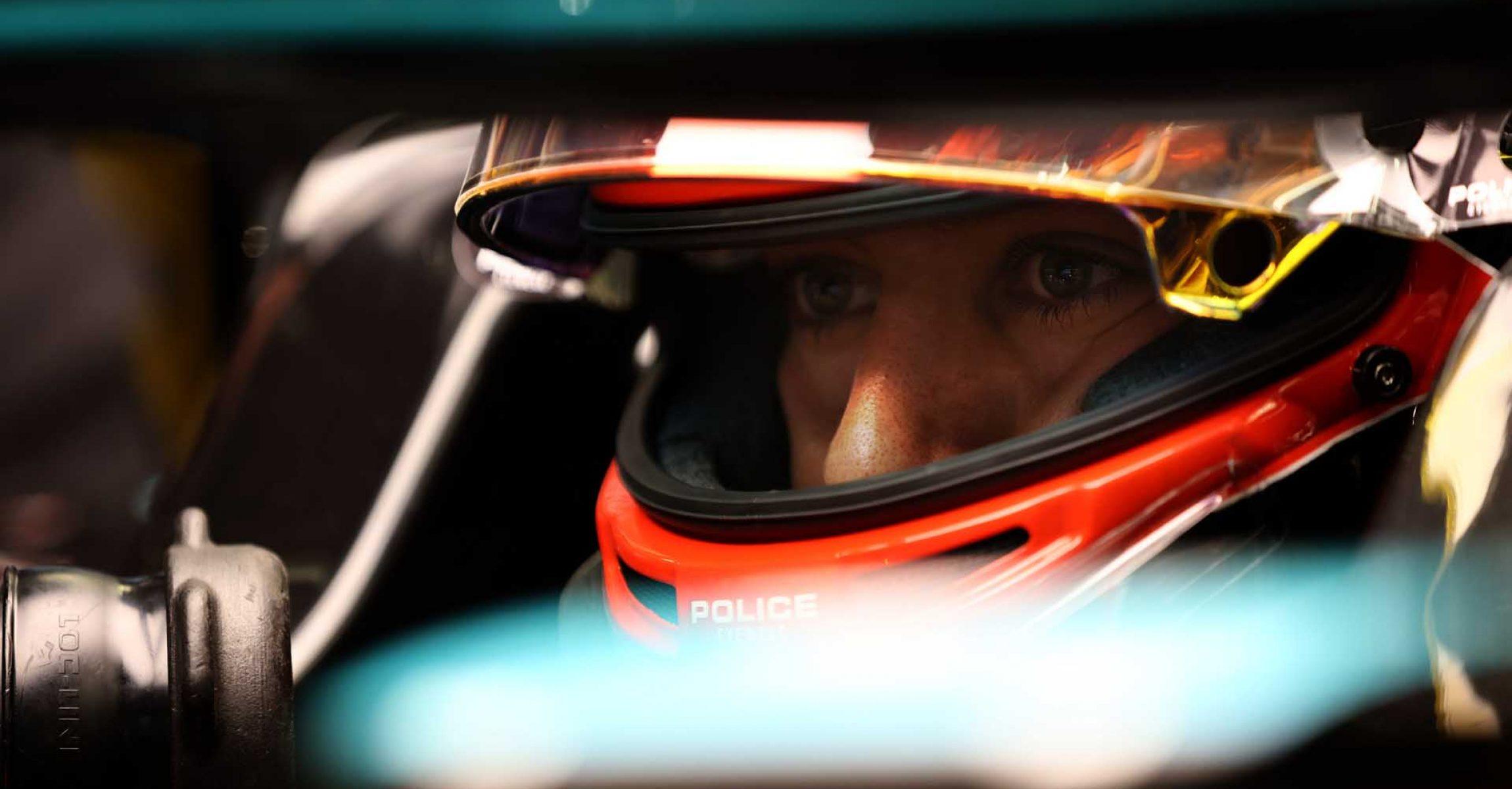 2020 Sakhir Grand Prix, Saturday – Steve Etherington George Russell Mercedes