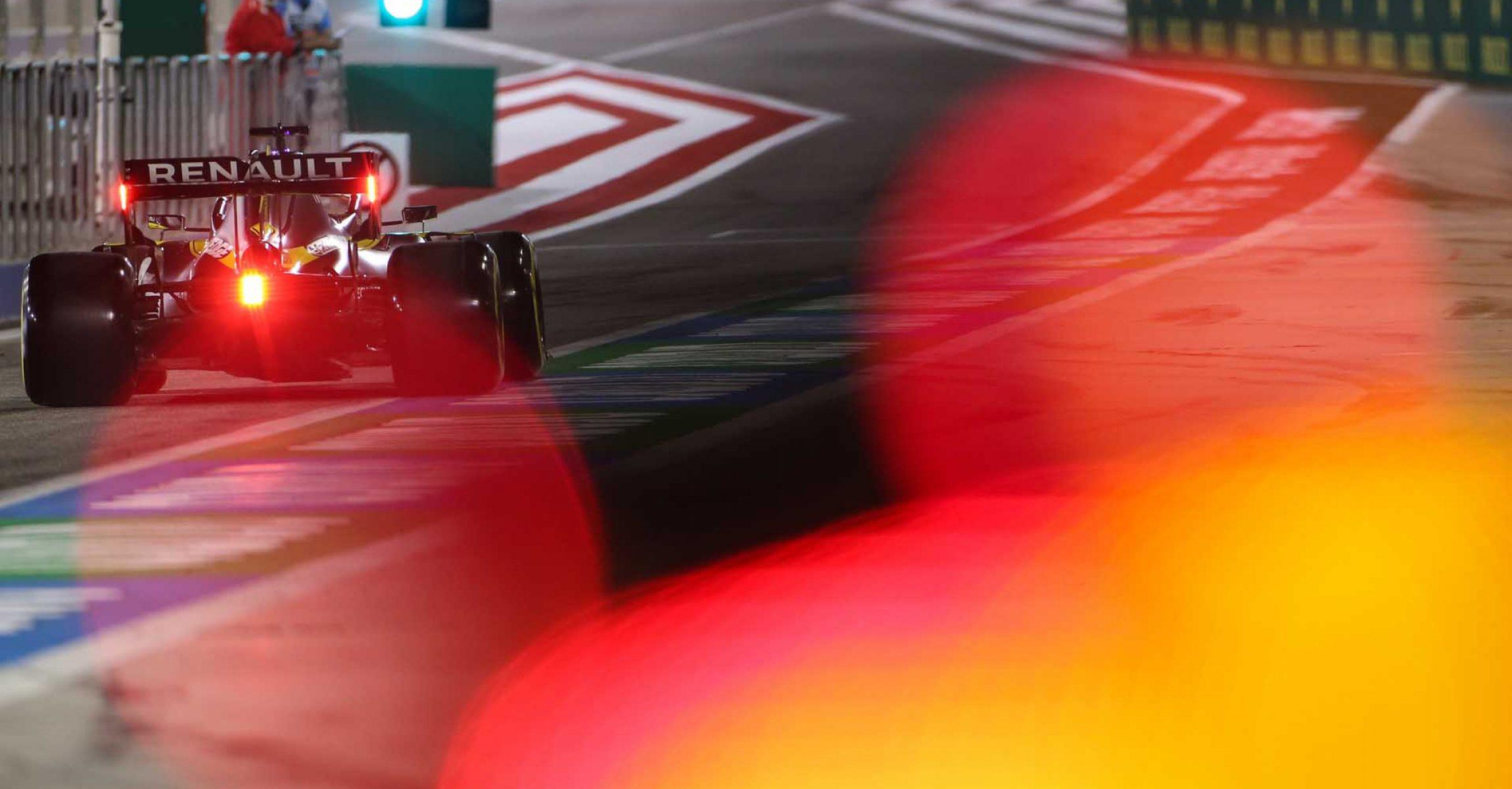 Daniel Ricciardo (AUS) Renault F1 Team RS20. Sakhir Grand Prix, Saturday 5th December 2020. Sakhir, Bahrain.