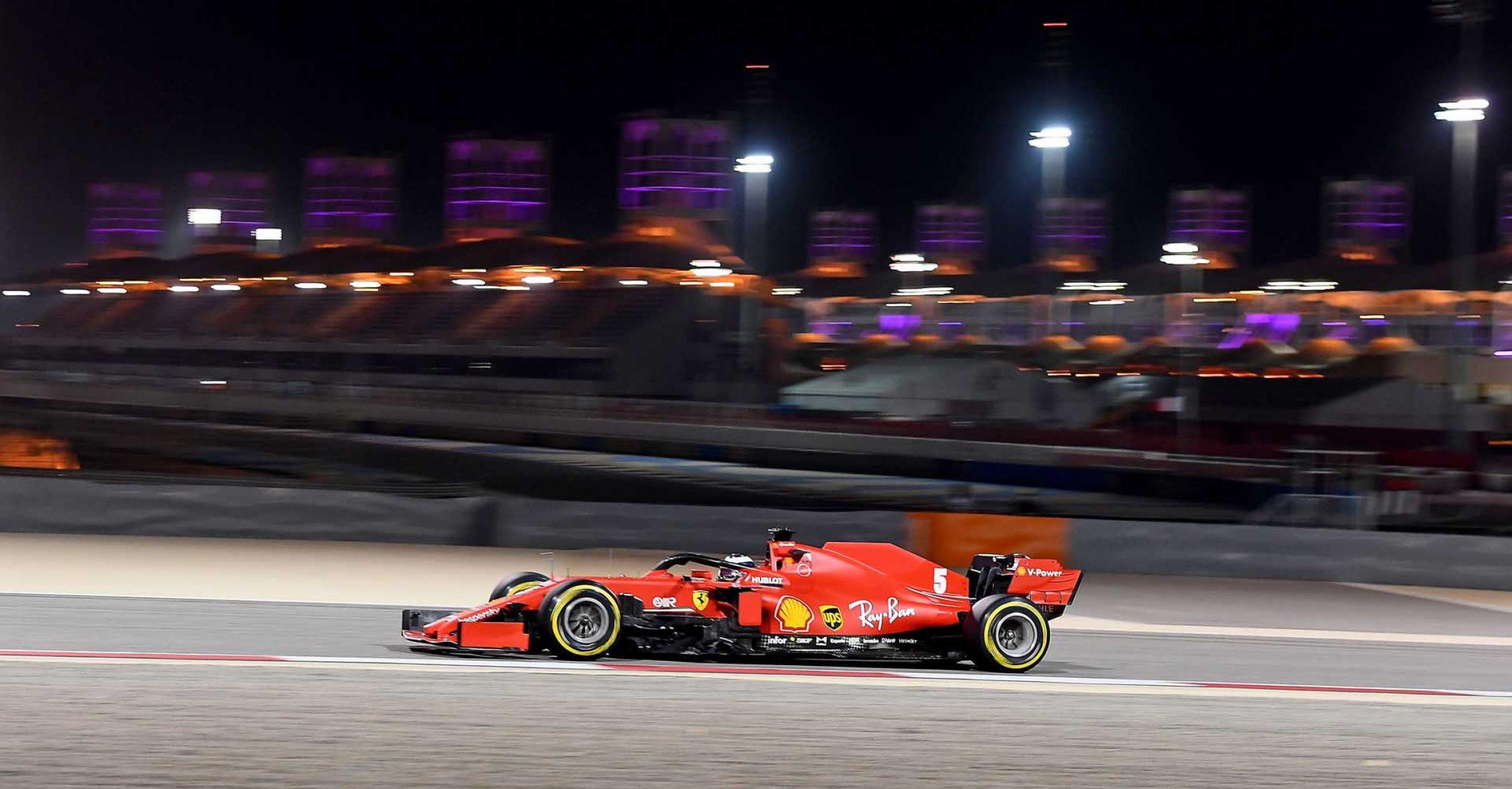 GP SAKHIR  F1/2020 - DOMENICA 06/12/2020   credit: @Scuderia Ferrari Press Office Sebastian Vettel