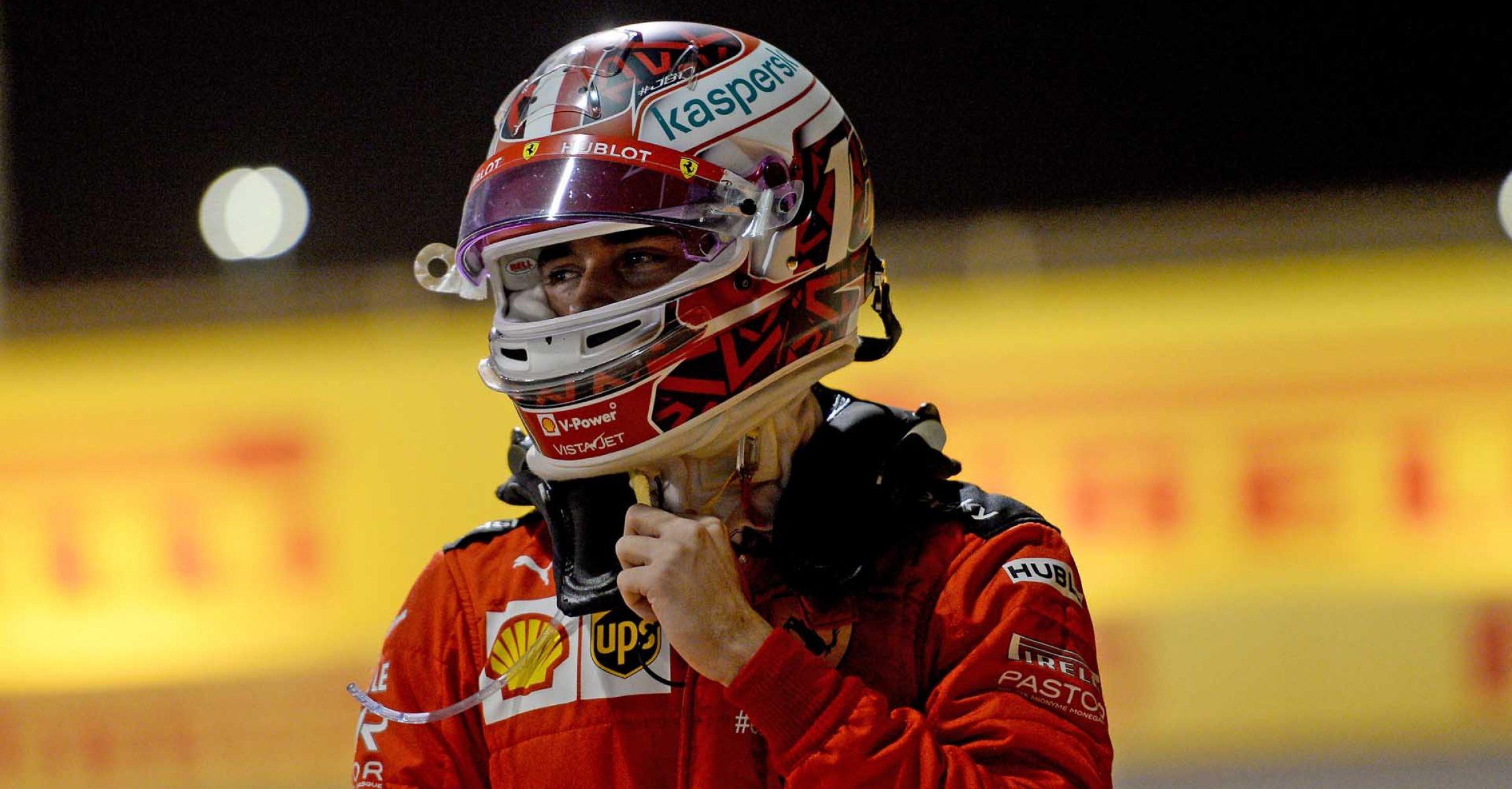 GP SAKHIR  F1/2020 - DOMENICA 06/12/2020   credit: @Scuderia Ferrari Press Office Charles Leclerc