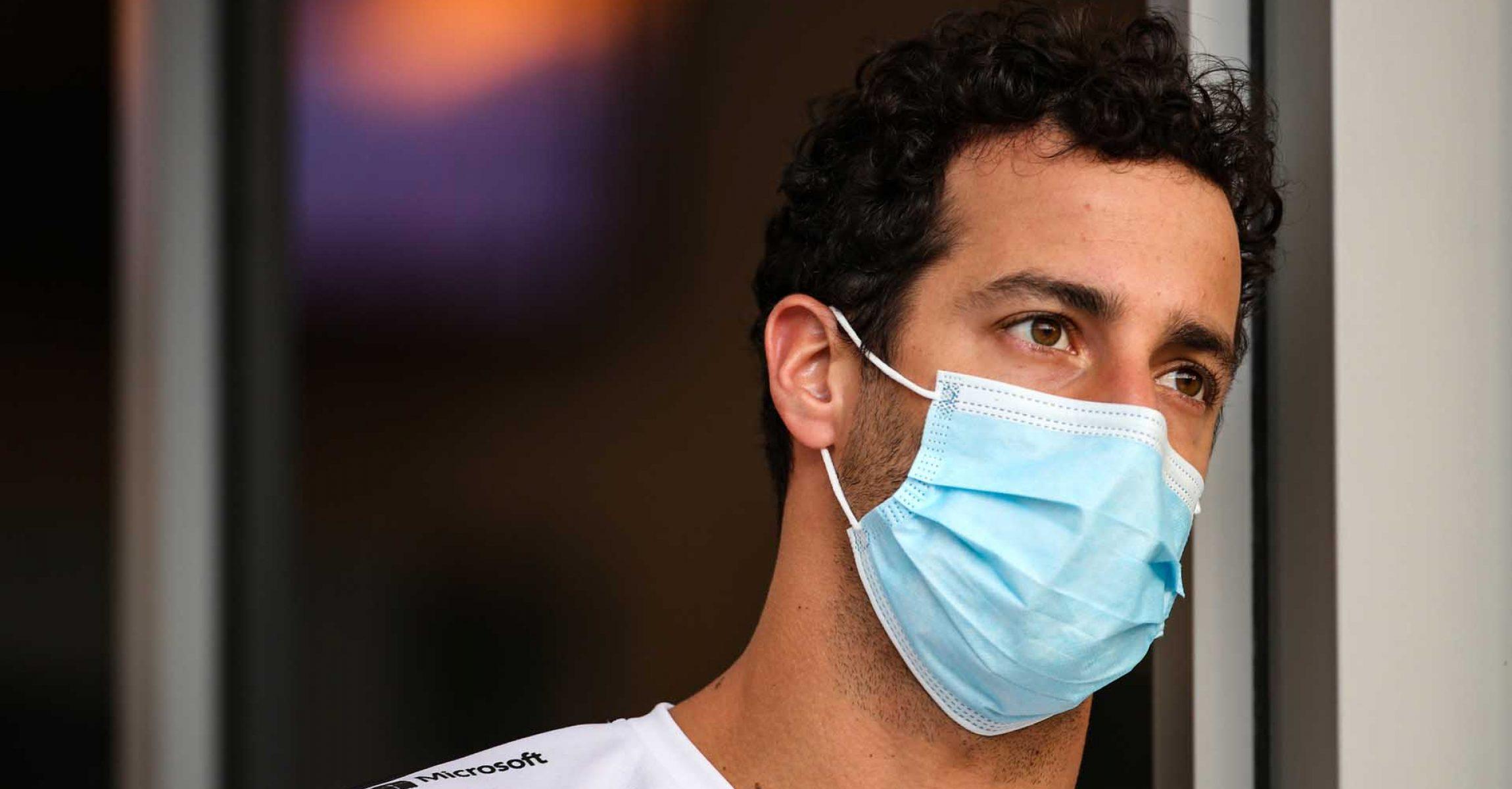 Daniel Ricciardo (AUS) Renault F1 Team. Sakhir Grand Prix, Thursday 3rd December 2020. Sakhir, Bahrain.