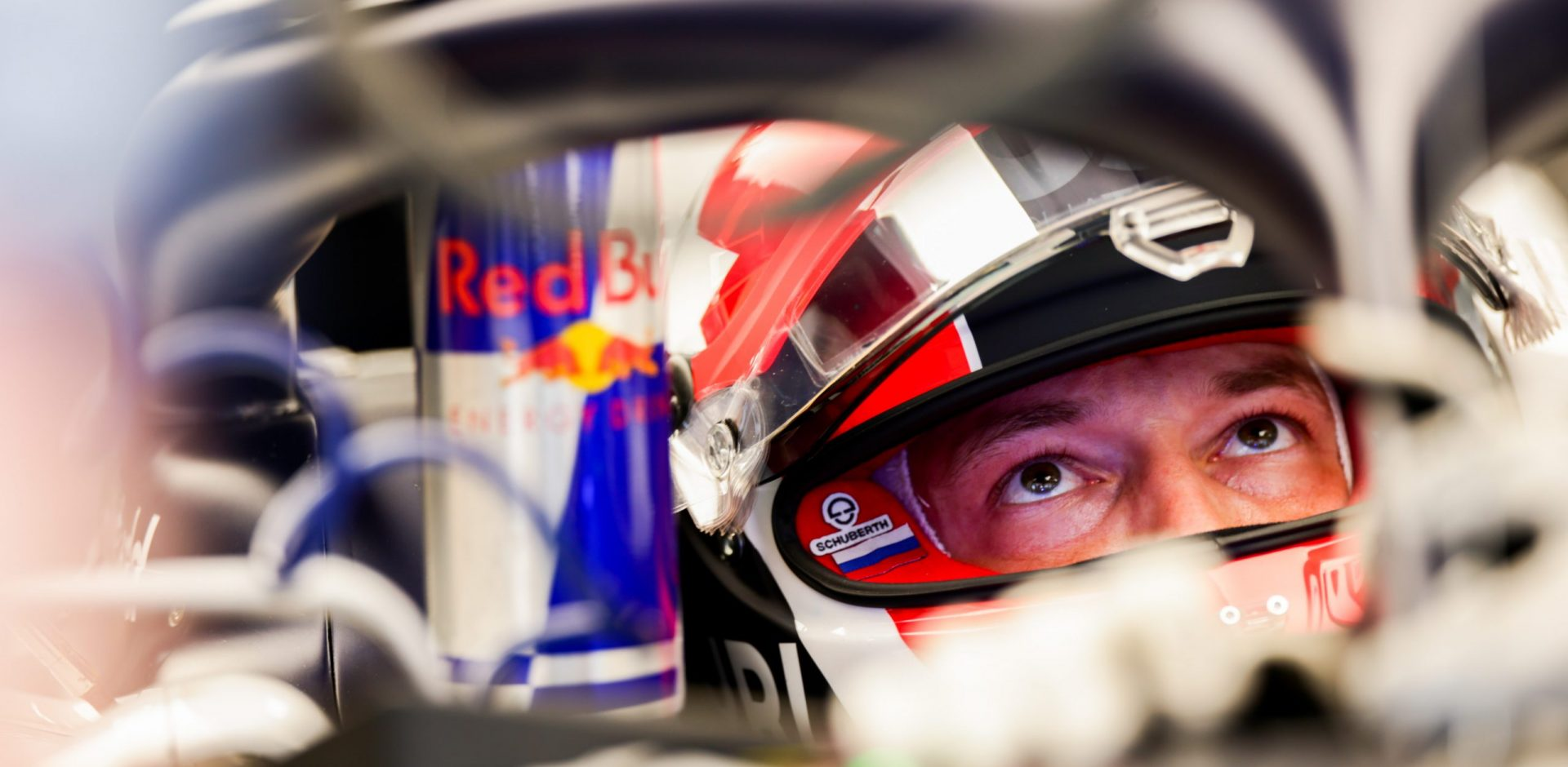 BARCELONA, SPAIN - AUGUST 14: Daniil Kvyat of Scuderia AlphaTauri and Russia  during practice for the F1 Grand Prix of Spain at Circuit de Barcelona-Catalunya on August 14, 2020 in Barcelona, Spain. (Photo by Peter Fox/Getty Images) // Getty Images / Red Bull Content Pool  // SI202008140670 // Usage for editorial use only //