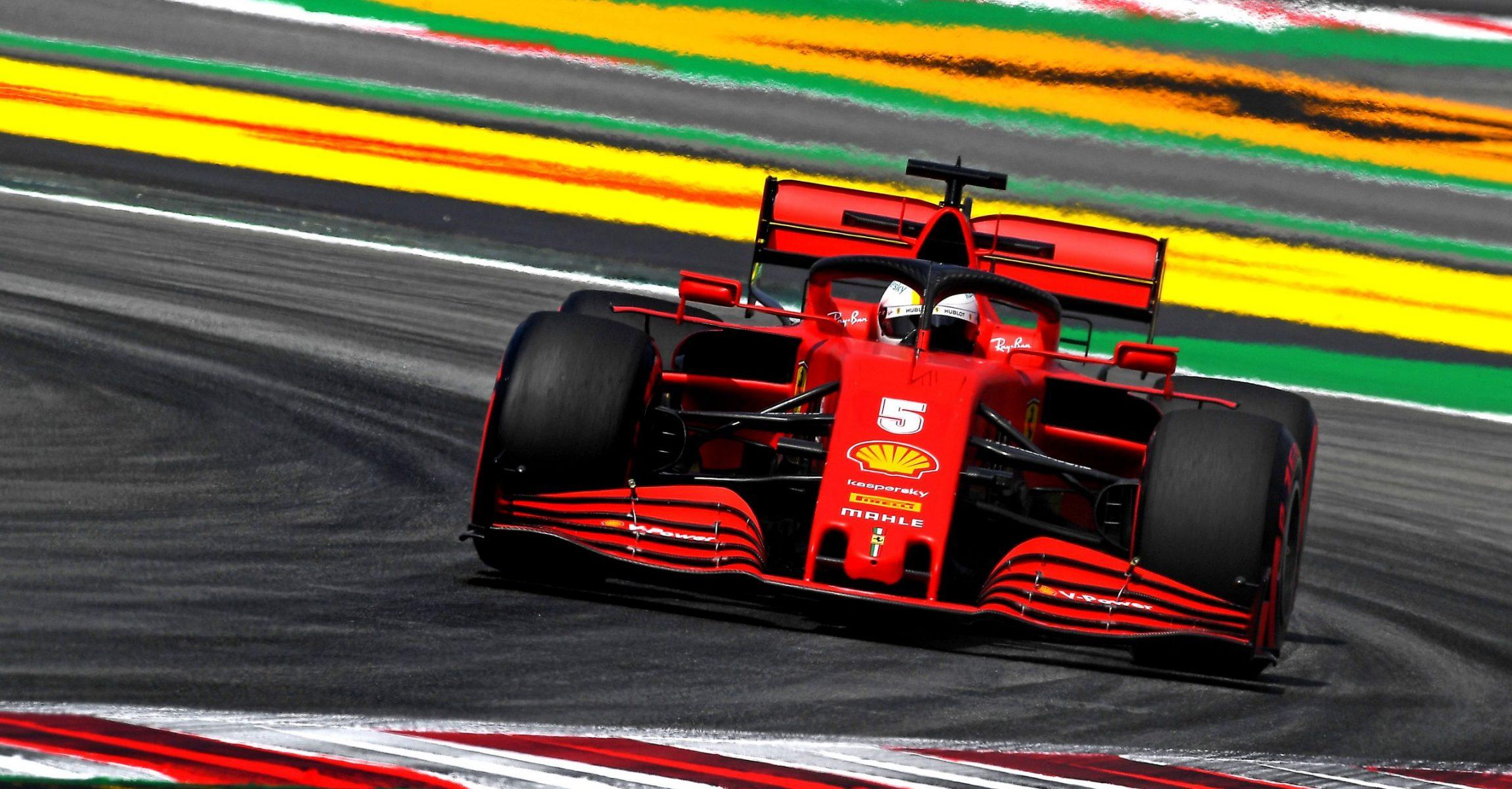 GP SPAGNA F1/2020 -  VENERDÌ 14/08/2020  credit: @Scuderia Ferrari Press Office Sebastian Vettel