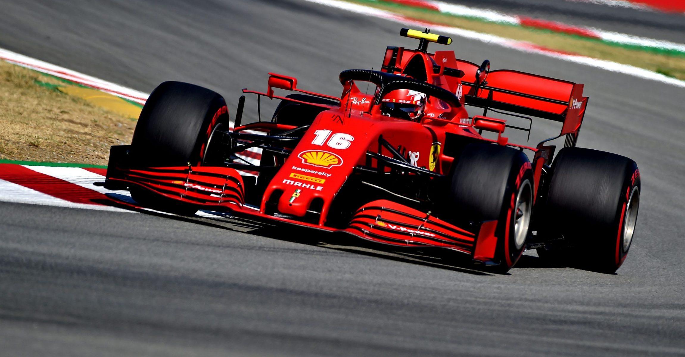 GP SPAGNA F1/2020 -  VENERDÌ 14/08/2020  credit: @Scuderia Ferrari Press Office Charles Leclerc