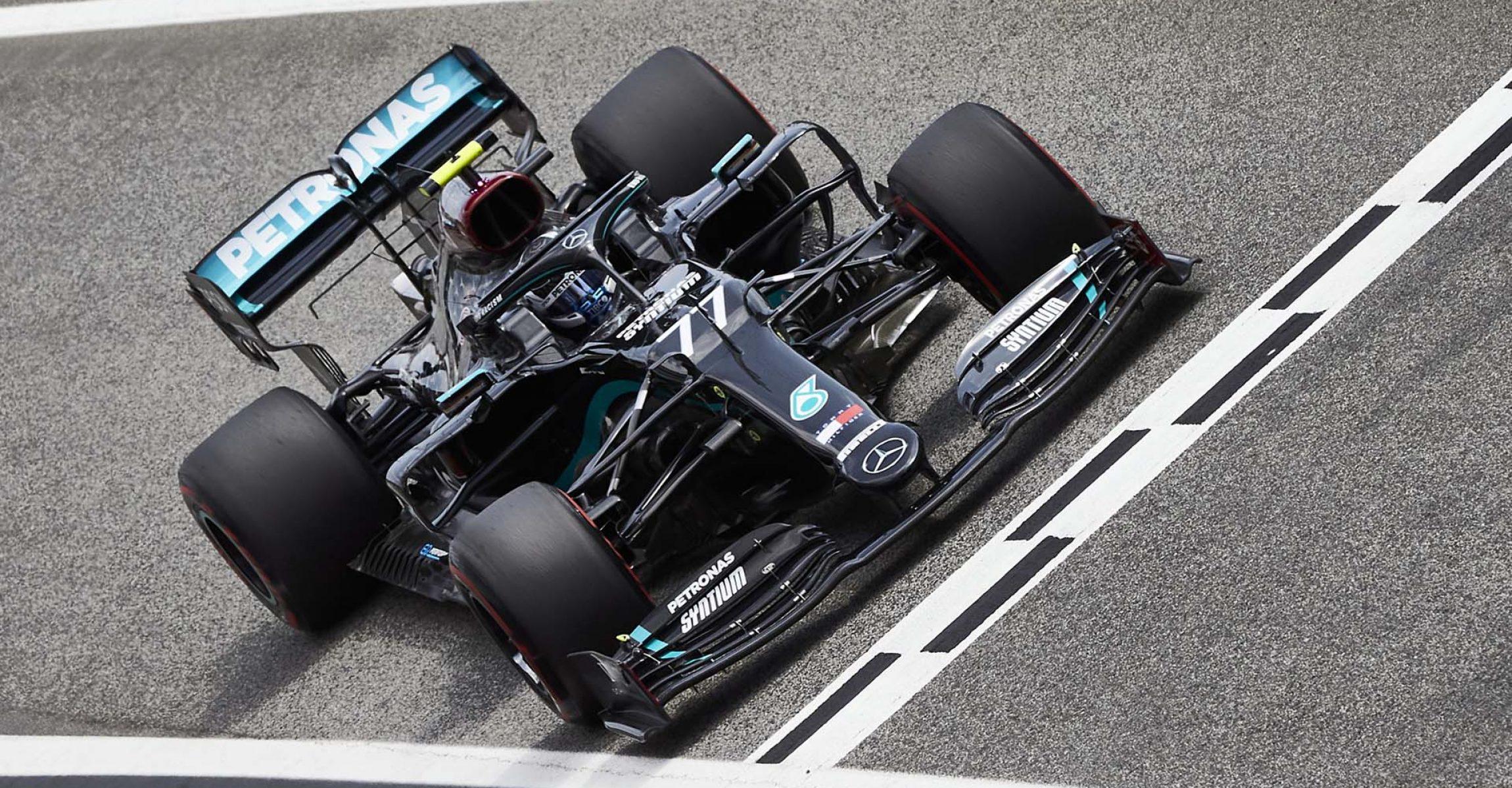 2020 Spanish Grand Prix, Friday - Steve Etherington Valtteri Bottas Mercedes