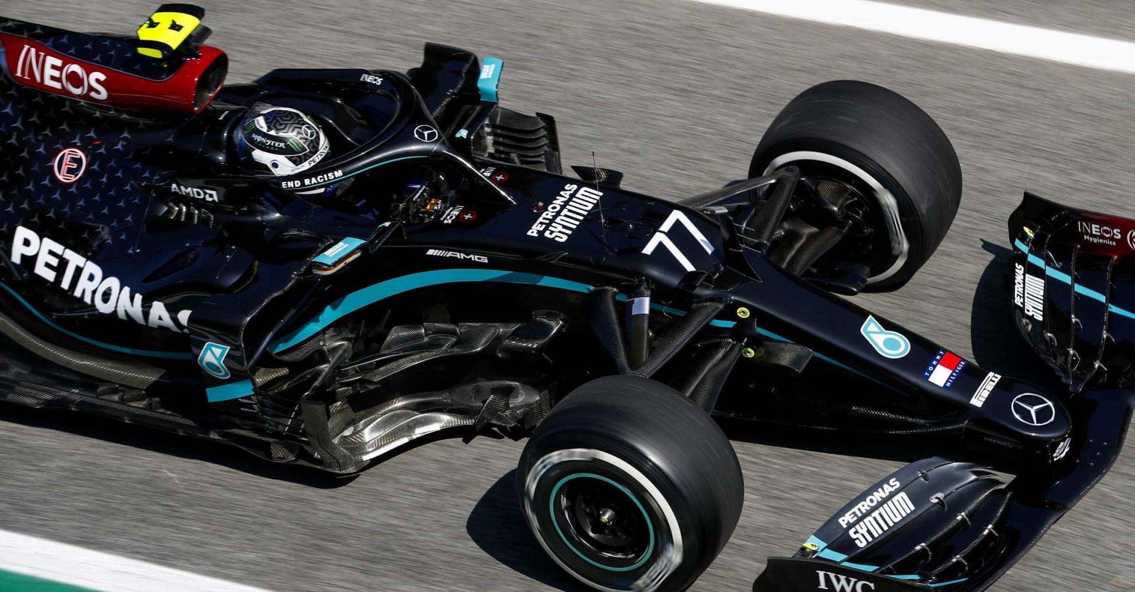 2020 Spanish Grand Prix, Friday - LAT Images Valtteri Bottas Mercedes
