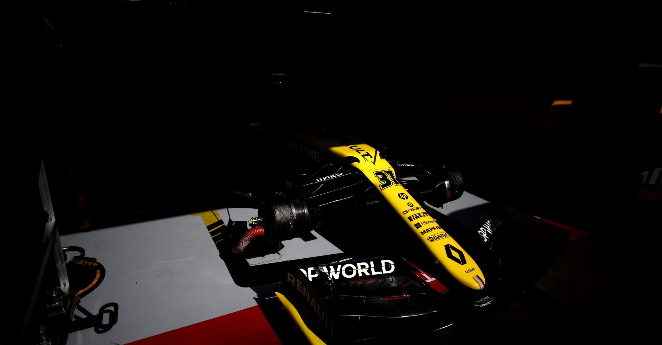 Esteban Ocon (FRA) Renault F1 Team RS20. Spanish Grand Prix, Friday 14th August 2020. Barcelona, Spain. beauty