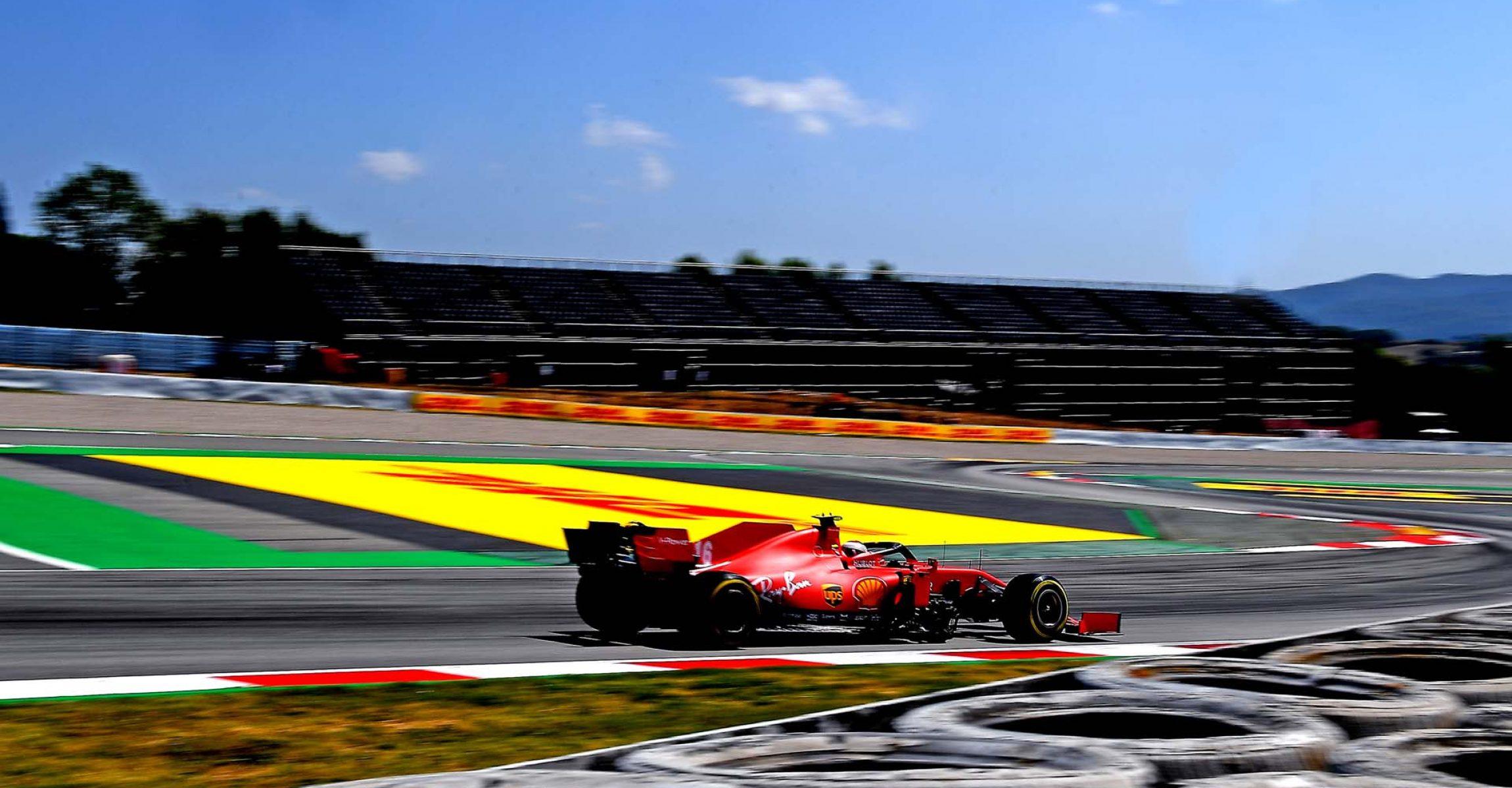 GP SPAGNA F1/2020 -  SABATO 15/08/2020   credit: @Scuderia Ferrari Press Office Charles Leclerc