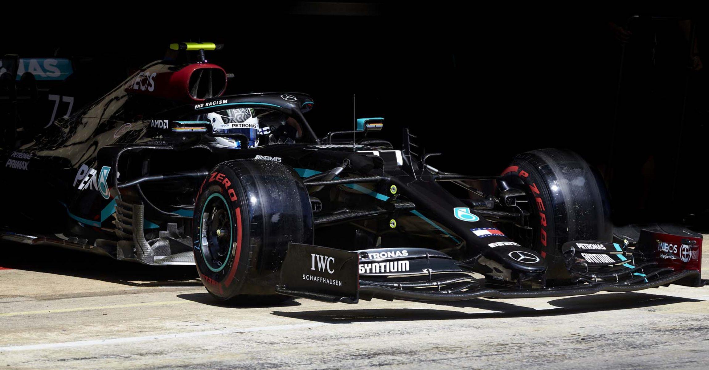 2020 Spanish Grand Prix, Saturday - Steve Etherington Valtteri Bottas Mercedes
