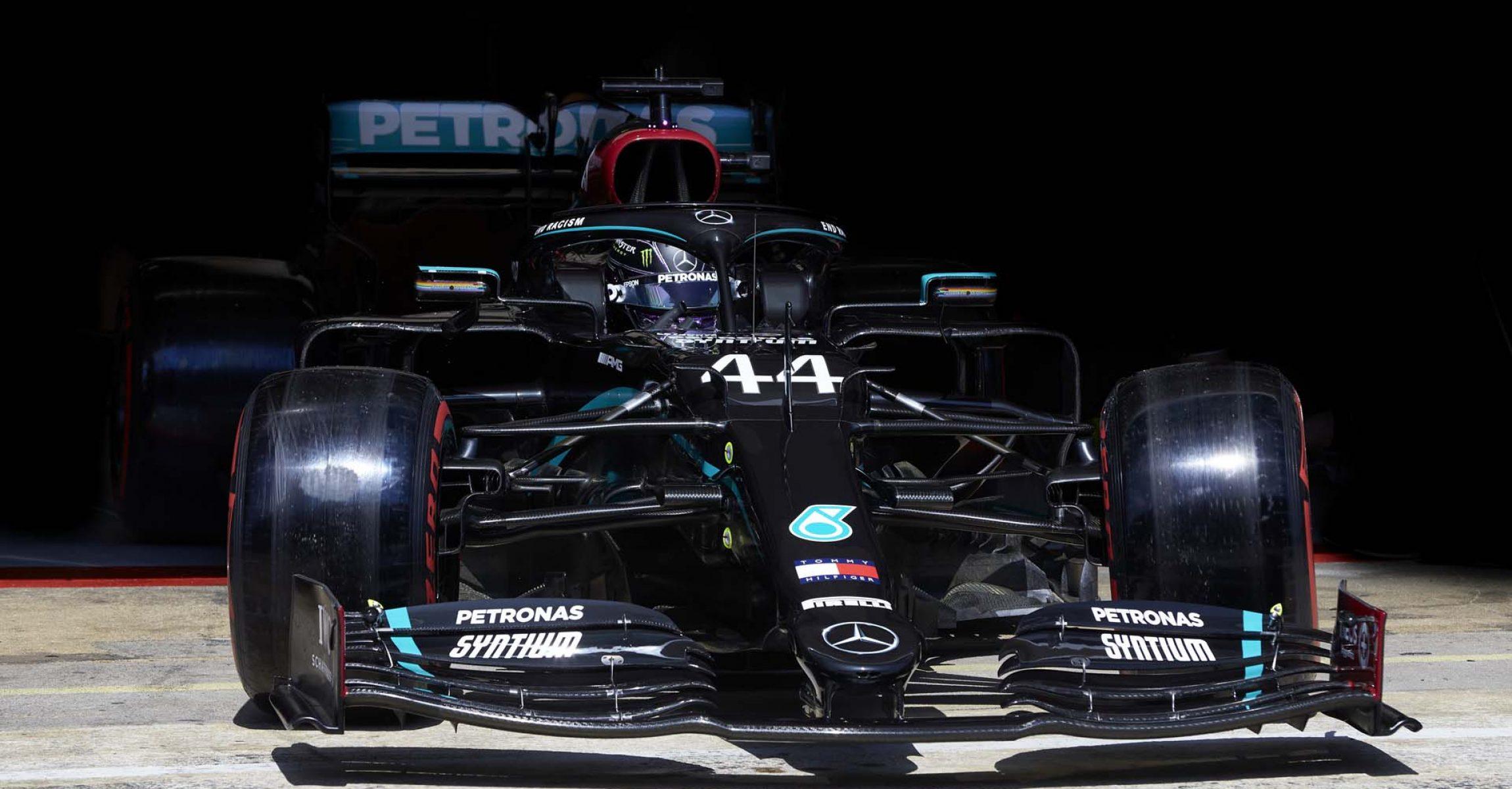 2020 Spanish Grand Prix, Saturday - Steve Etherington Lewis Hamilton Mercedes