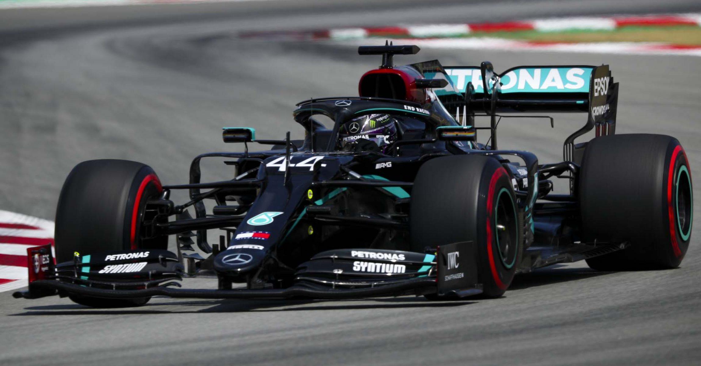 2020 Spanish Grand Prix, Saturday - LAT Images Lewis Hamilton Mercedes