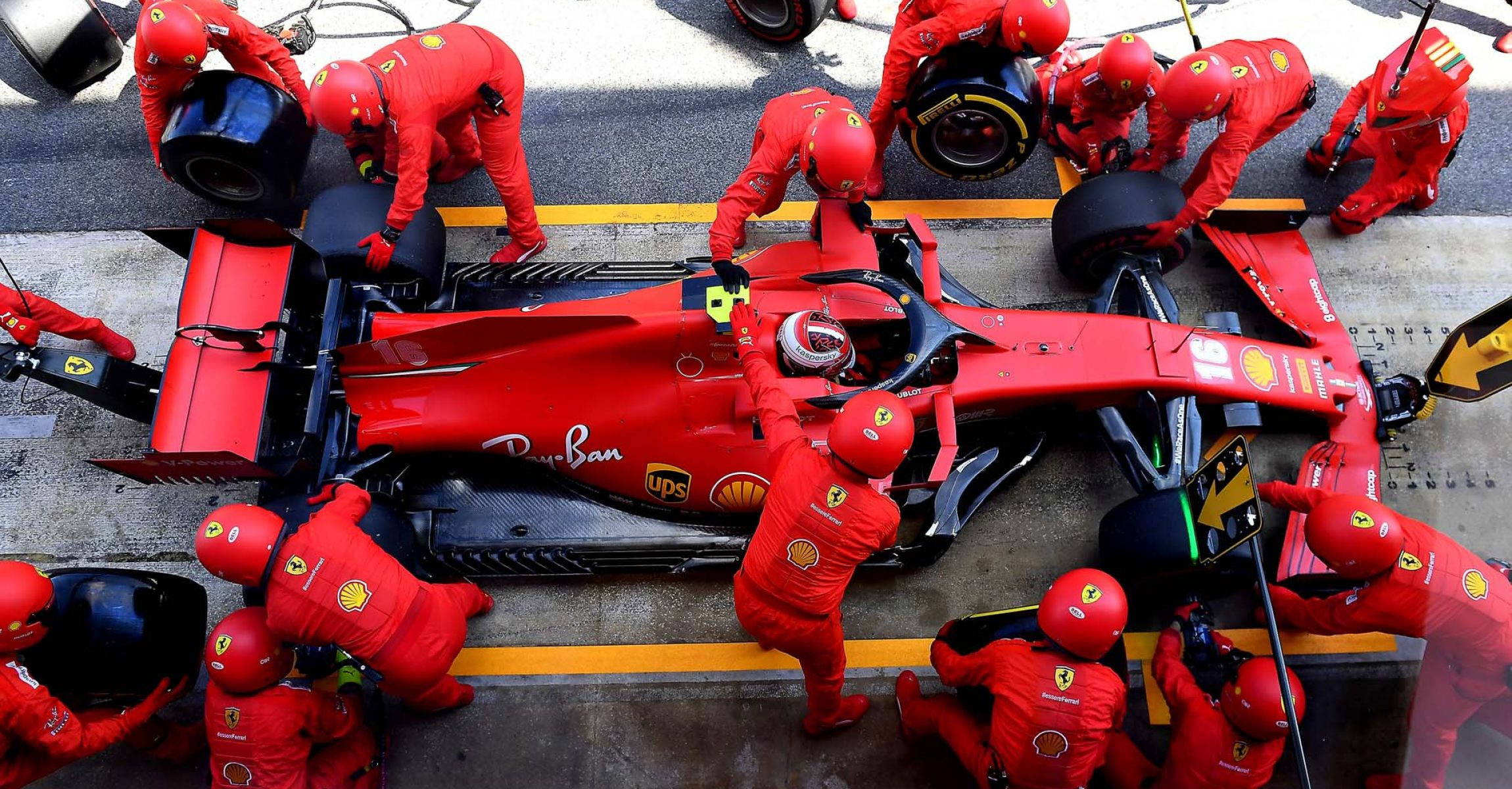 GP SPAGNA F1/2020 -  DOMENICA 16/08/2020   credit: @Scuderia Ferrari Press Office Charles Leclerc Ferrari