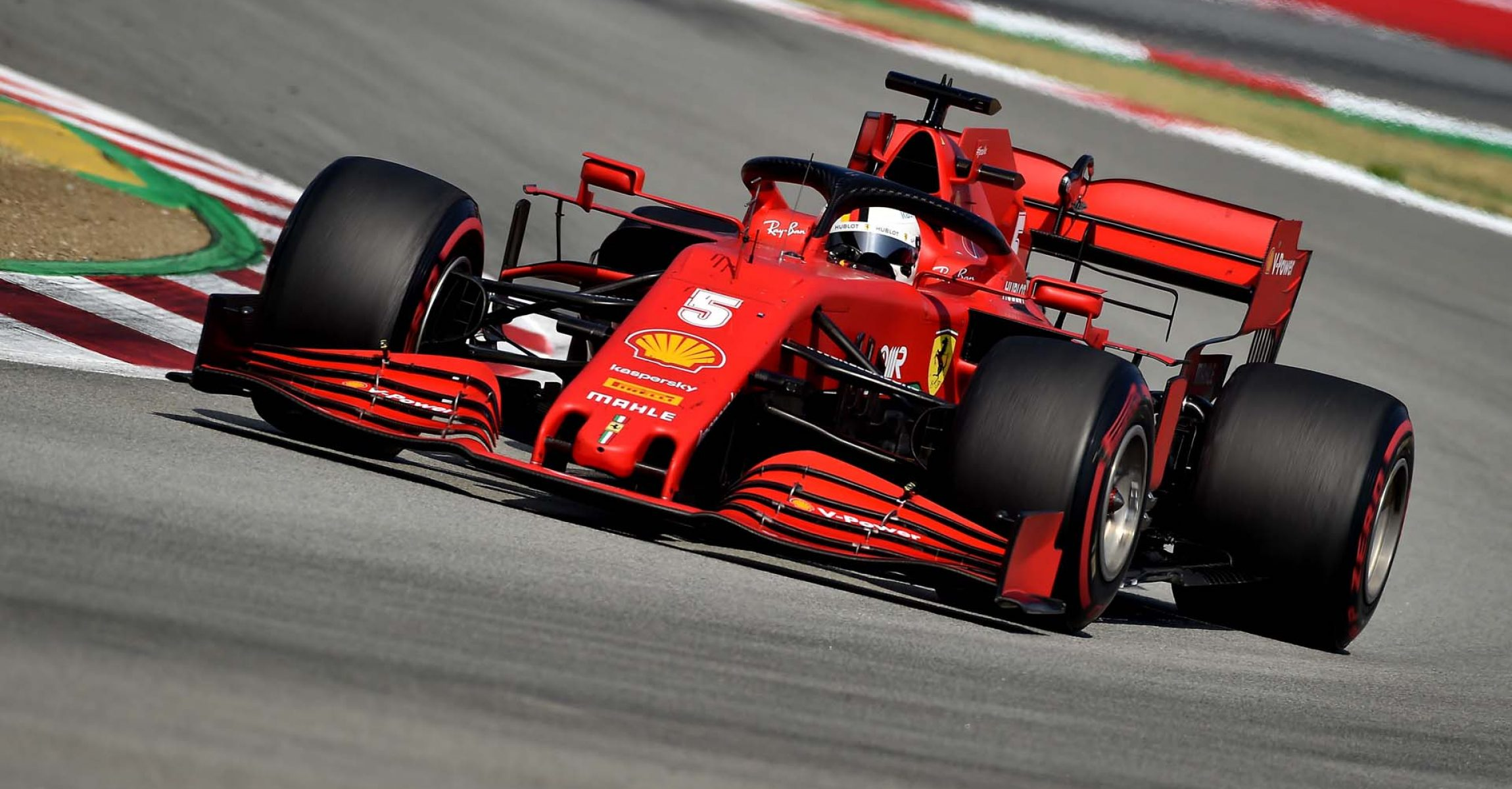 GP SPAGNA F1/2020 -  DOMENICA 16/08/2020   credit: @Scuderia Ferrari Press Office Sebastian Vettel