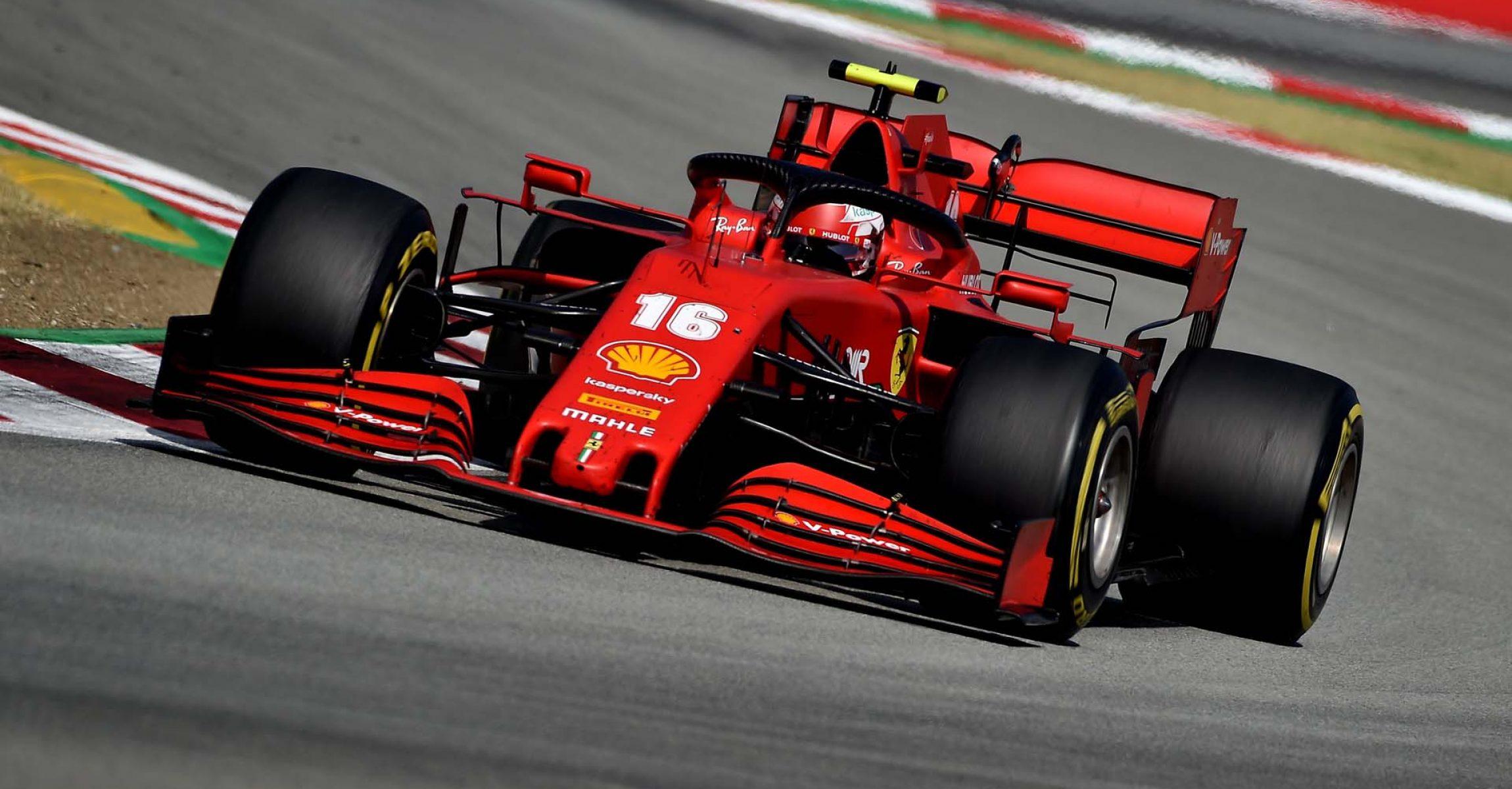 GP SPAGNA F1/2020 -  DOMENICA 16/08/2020   credit: @Scuderia Ferrari Press Office Charles Leclerc