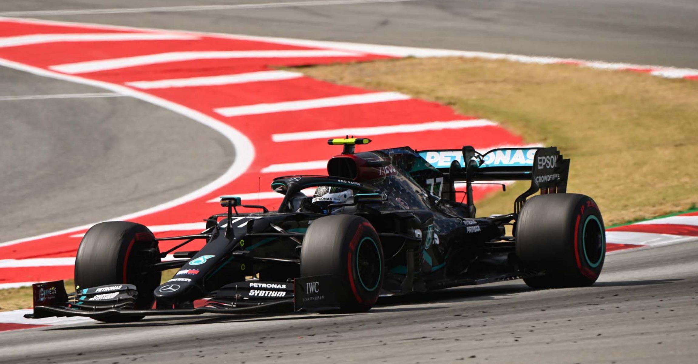 2020 Spanish Grand Prix, Sunday - LAT Images Valtteri Bottas Mercedes