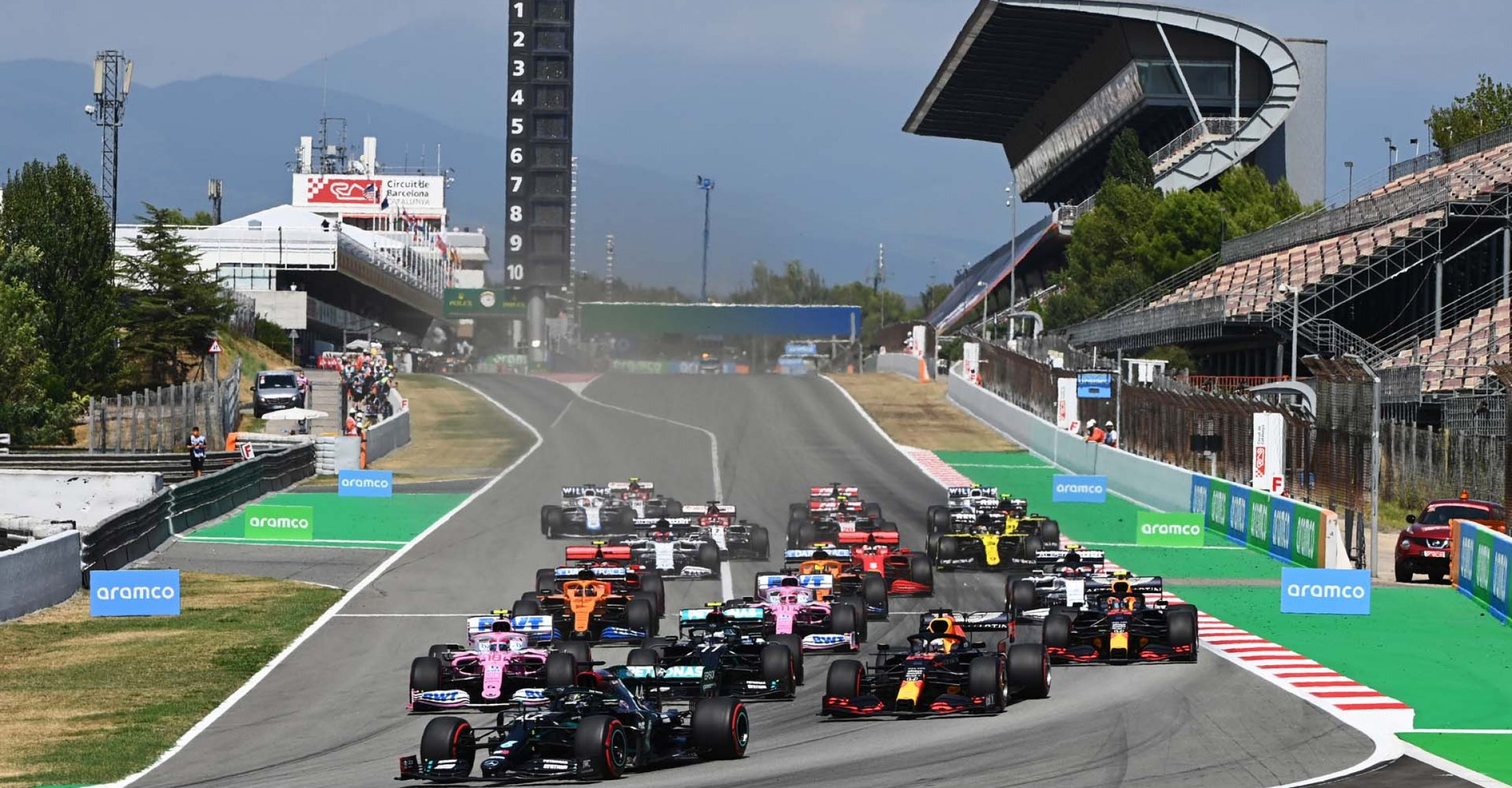 2020 Spanish Grand Prix, Sunday - LAT Images start