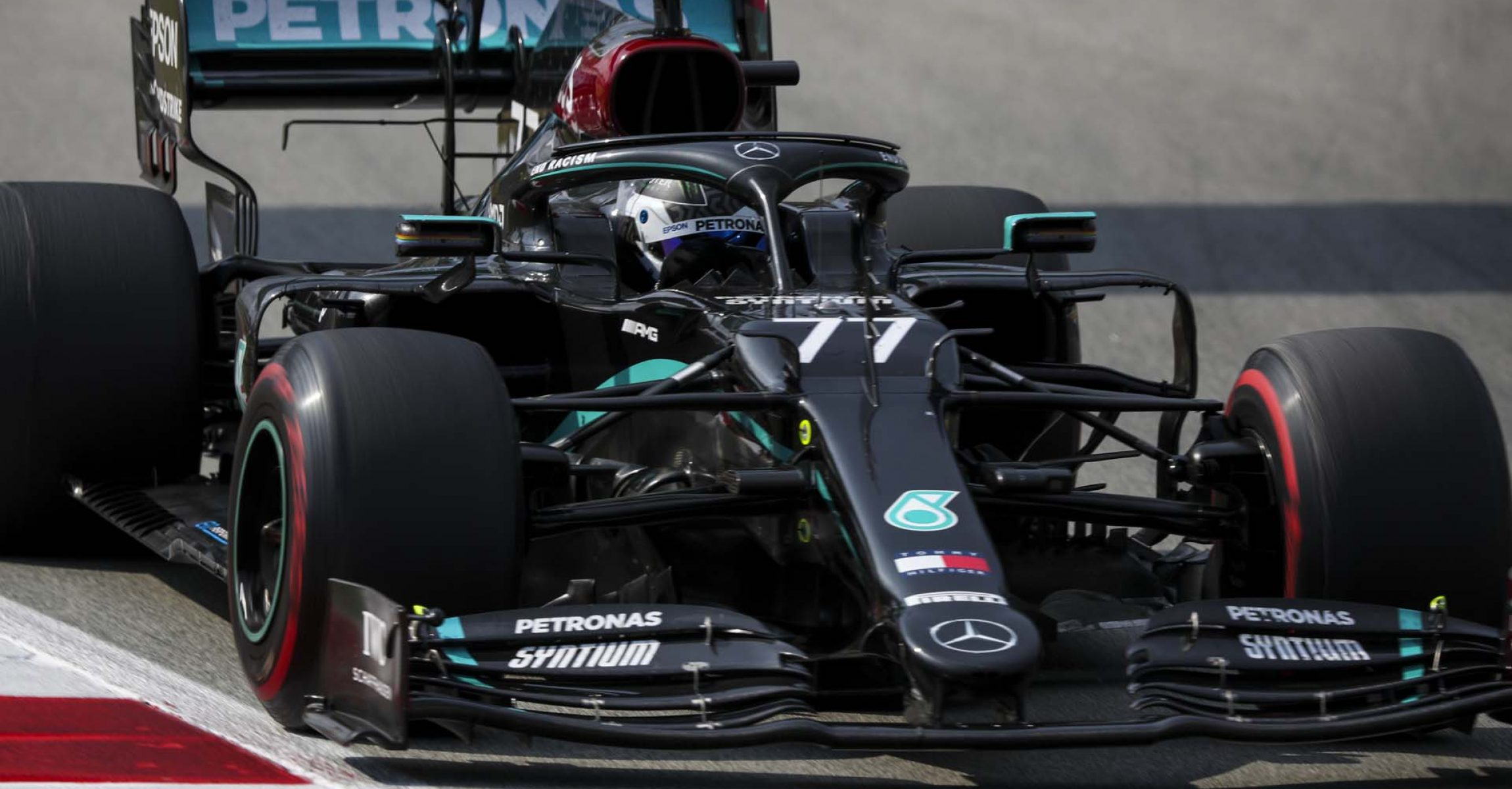 2020 Spanish Grand Prix, Sunday - LAT Images Valtteri Bottas Mercedes