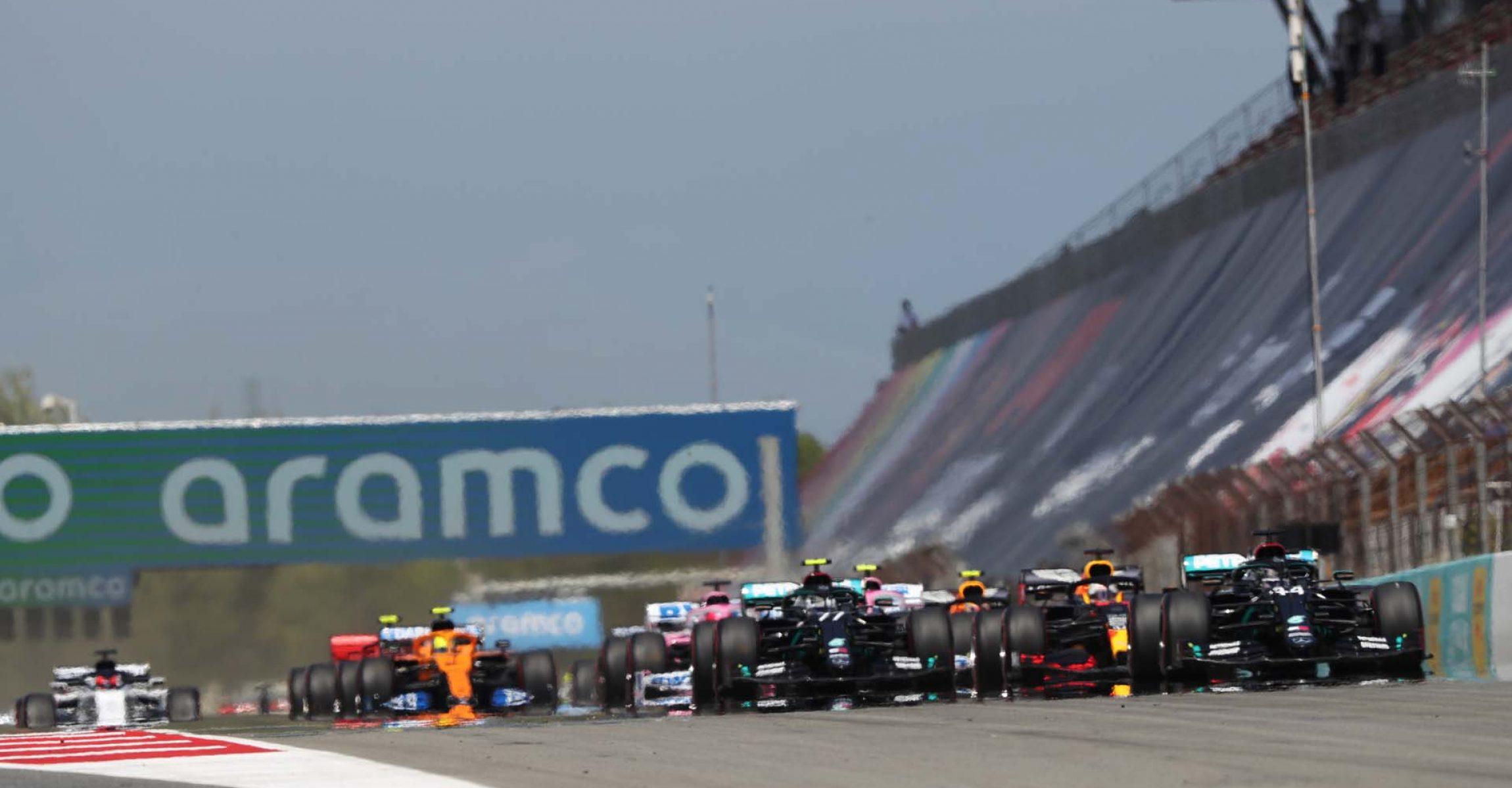 Spanish Grand Prix 2020, start