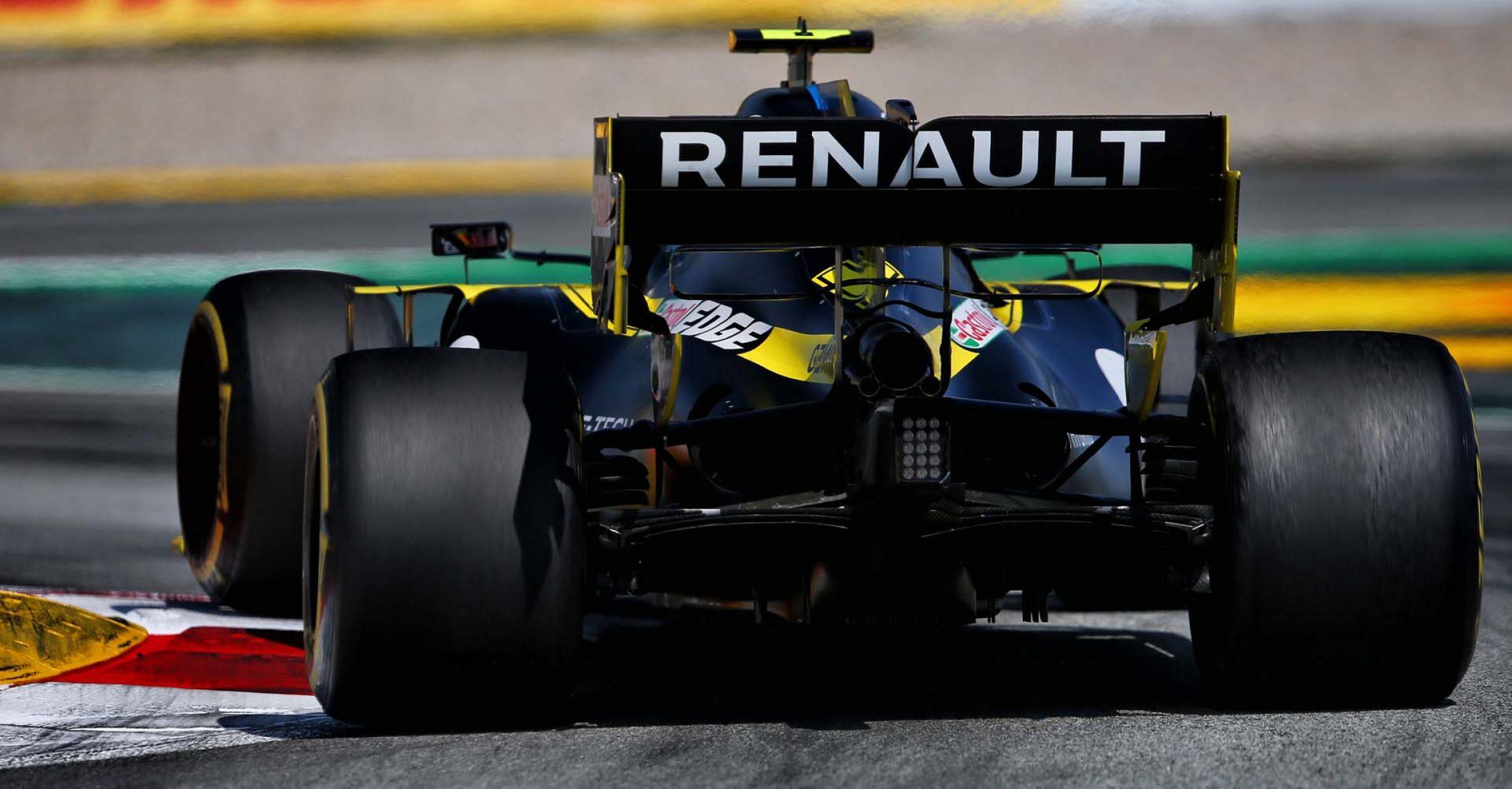 Esteban Ocon (FRA) Renault F1 Team RS20. Spanish Grand Prix, Sunday 16th August 2020. Barcelona, Spain.