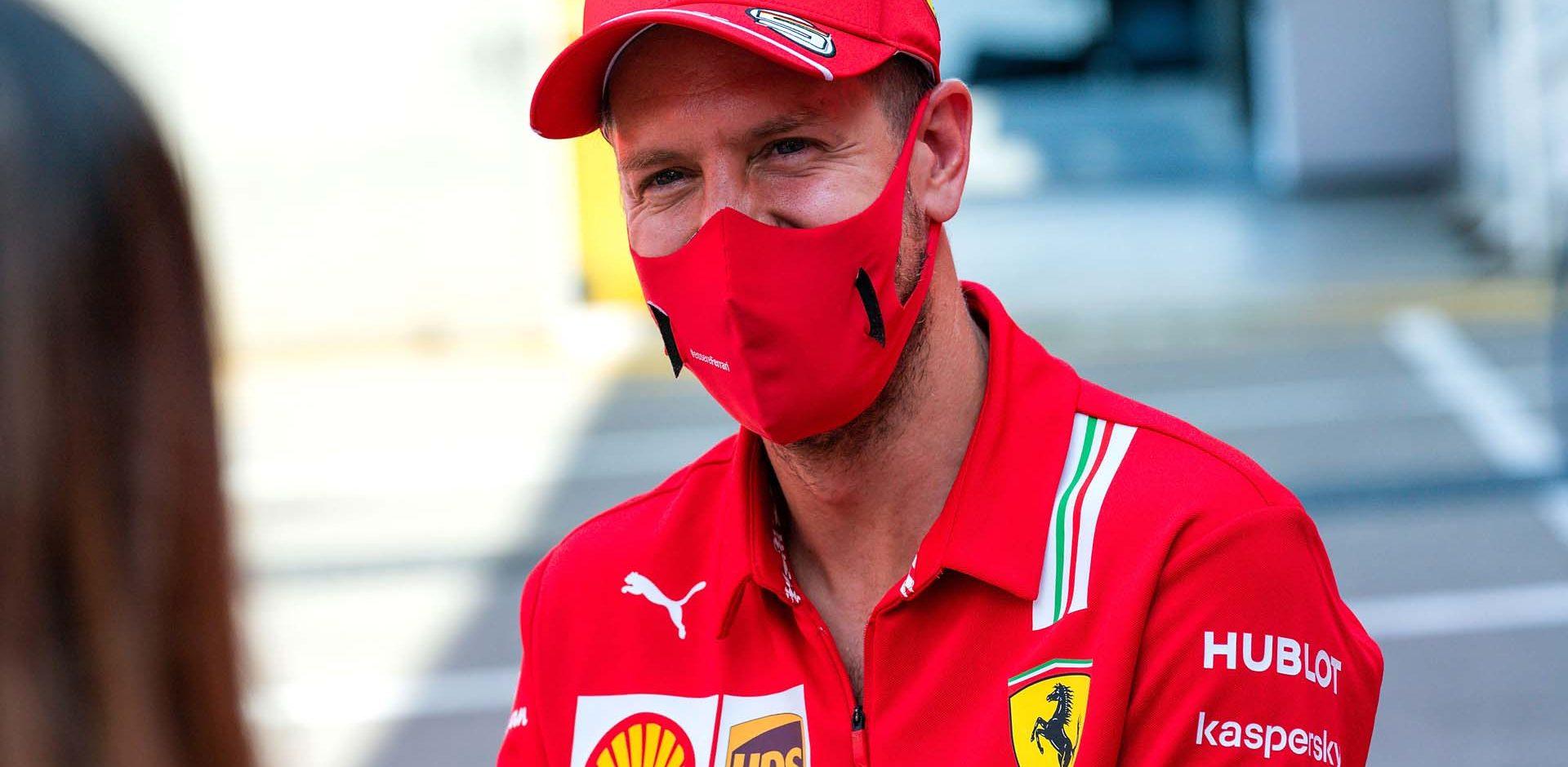 GP SPAGNA F1/2020 -  GIOVEDÌ 13/08/2020  09/08/2020  credit: @Scuderia Ferrari Press Office Sebastian Vettel,